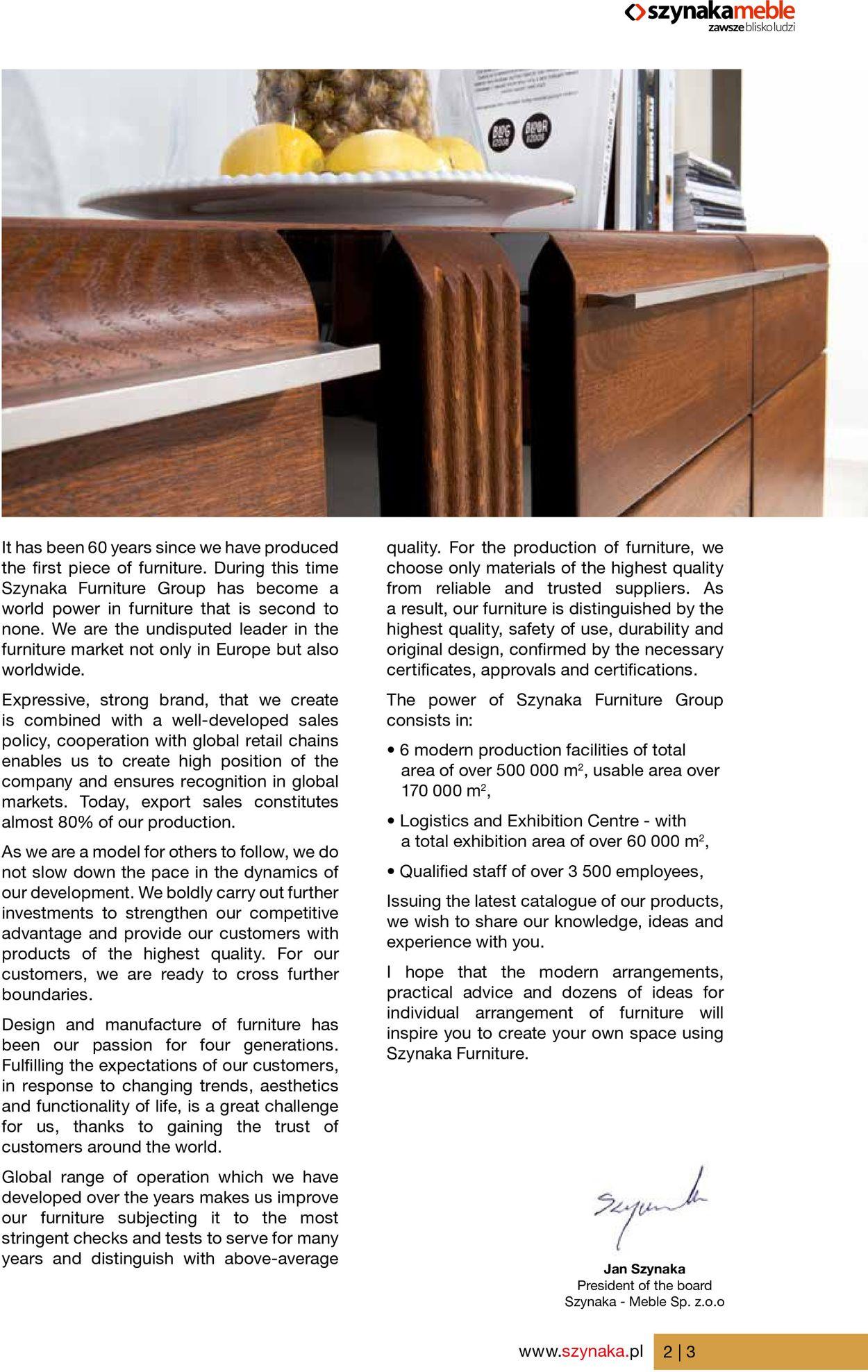 Gazetka promocyjna Szynaka Meble - 19.06-30.09.2020 (Strona 3)