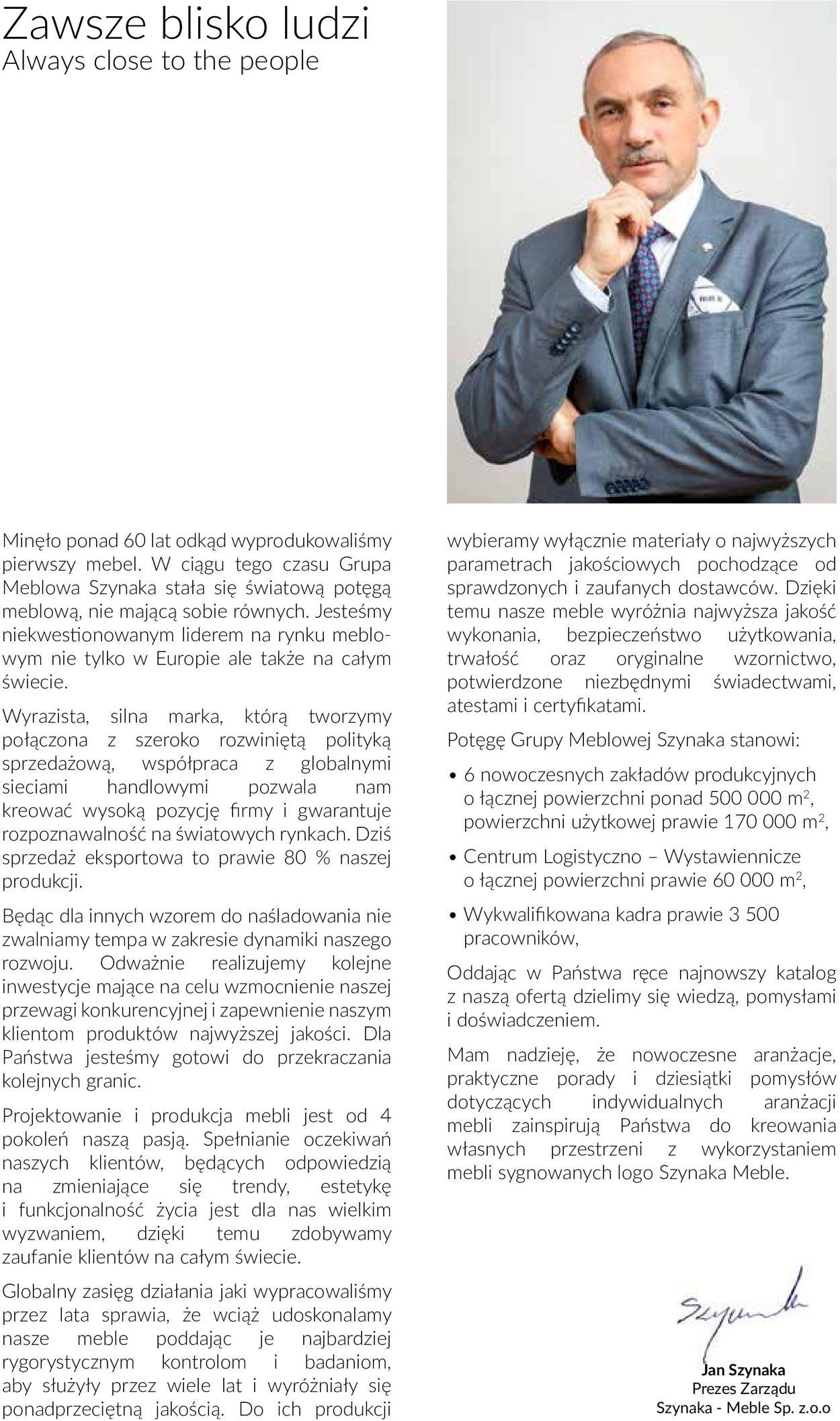 Gazetka promocyjna Szynaka Meble - 19.06-31.12.2020 (Strona 2)