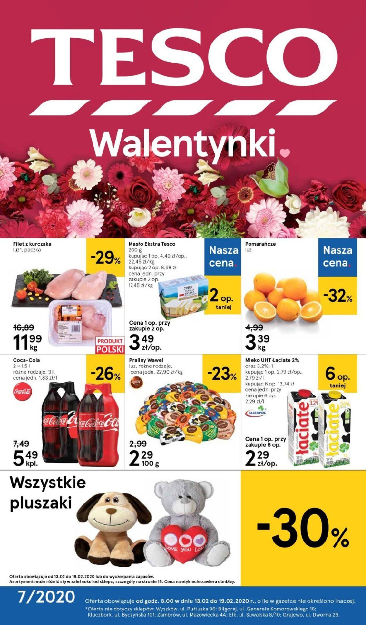 Gazetka promocyjna TESCO - 13.02-19.02.2020
