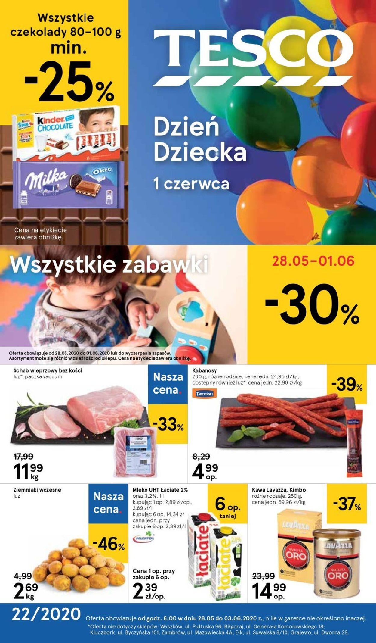 Gazetka promocyjna TESCO - 28.05-03.06.2020