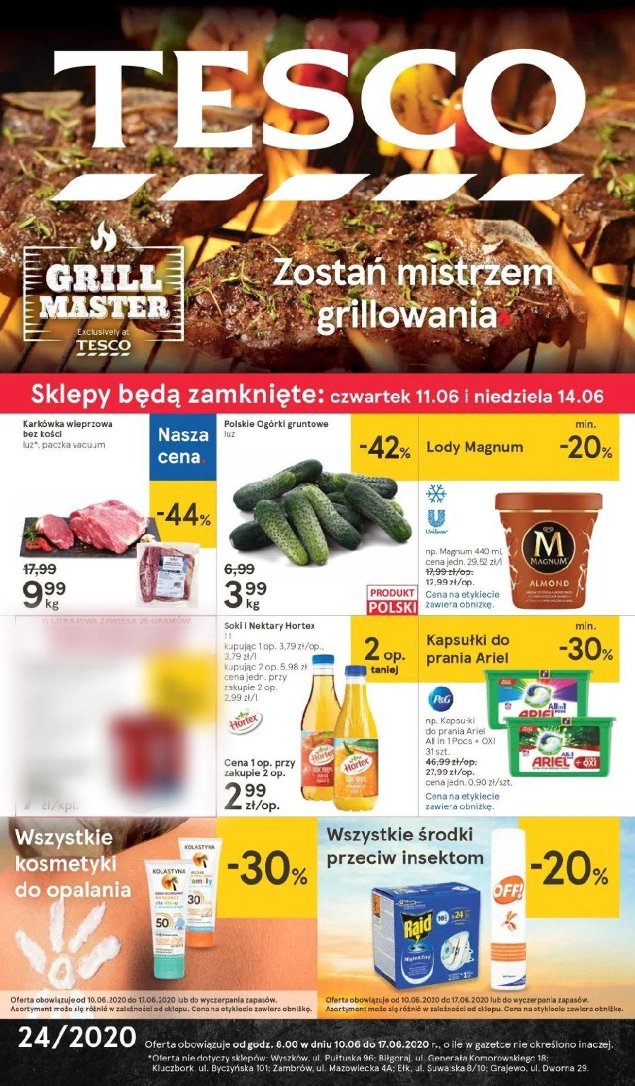 Gazetka promocyjna TESCO - 10.06-17.06.2020