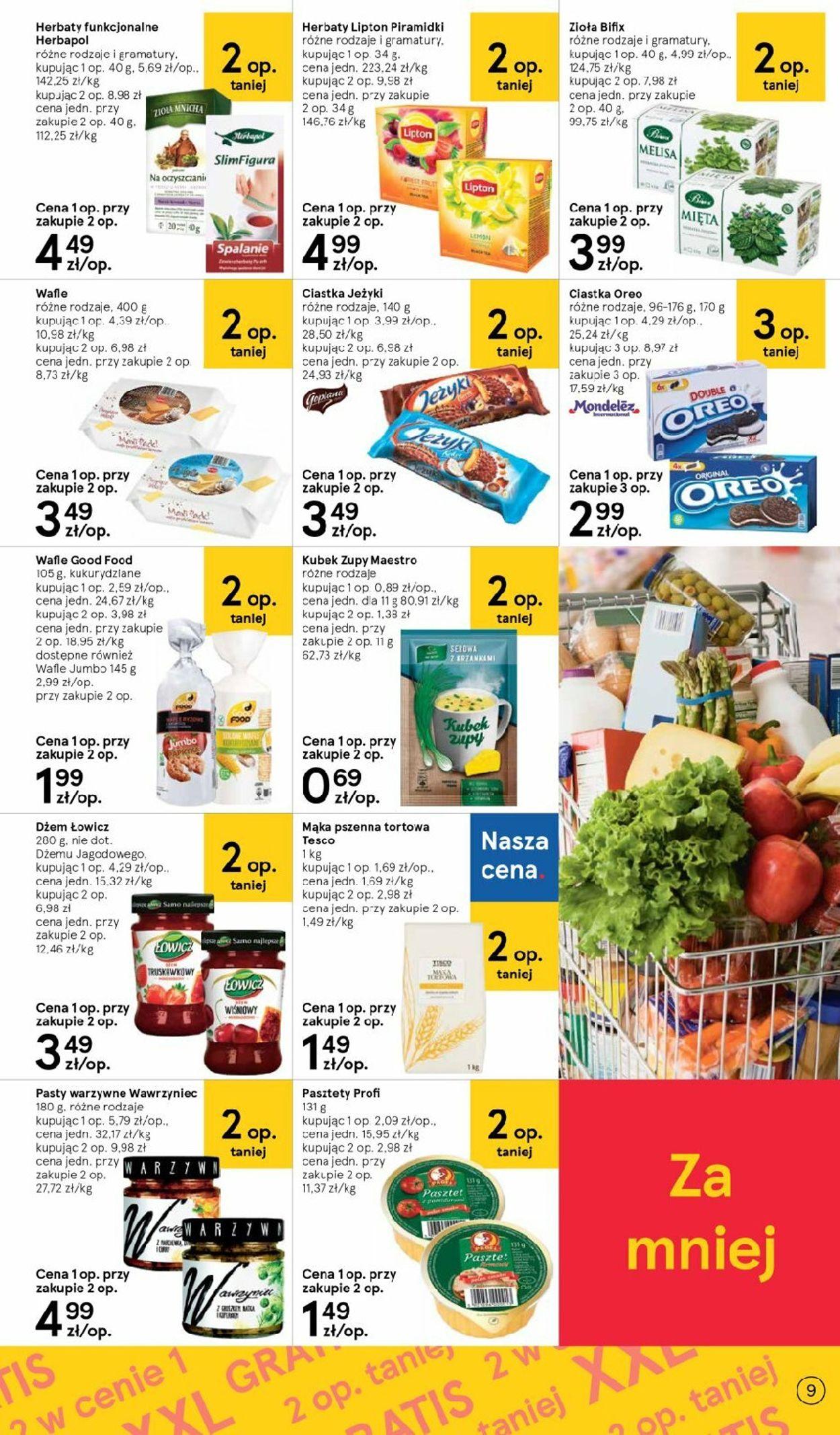 Gazetka promocyjna TESCO - 06.08-12.08.2020 (Strona 9)
