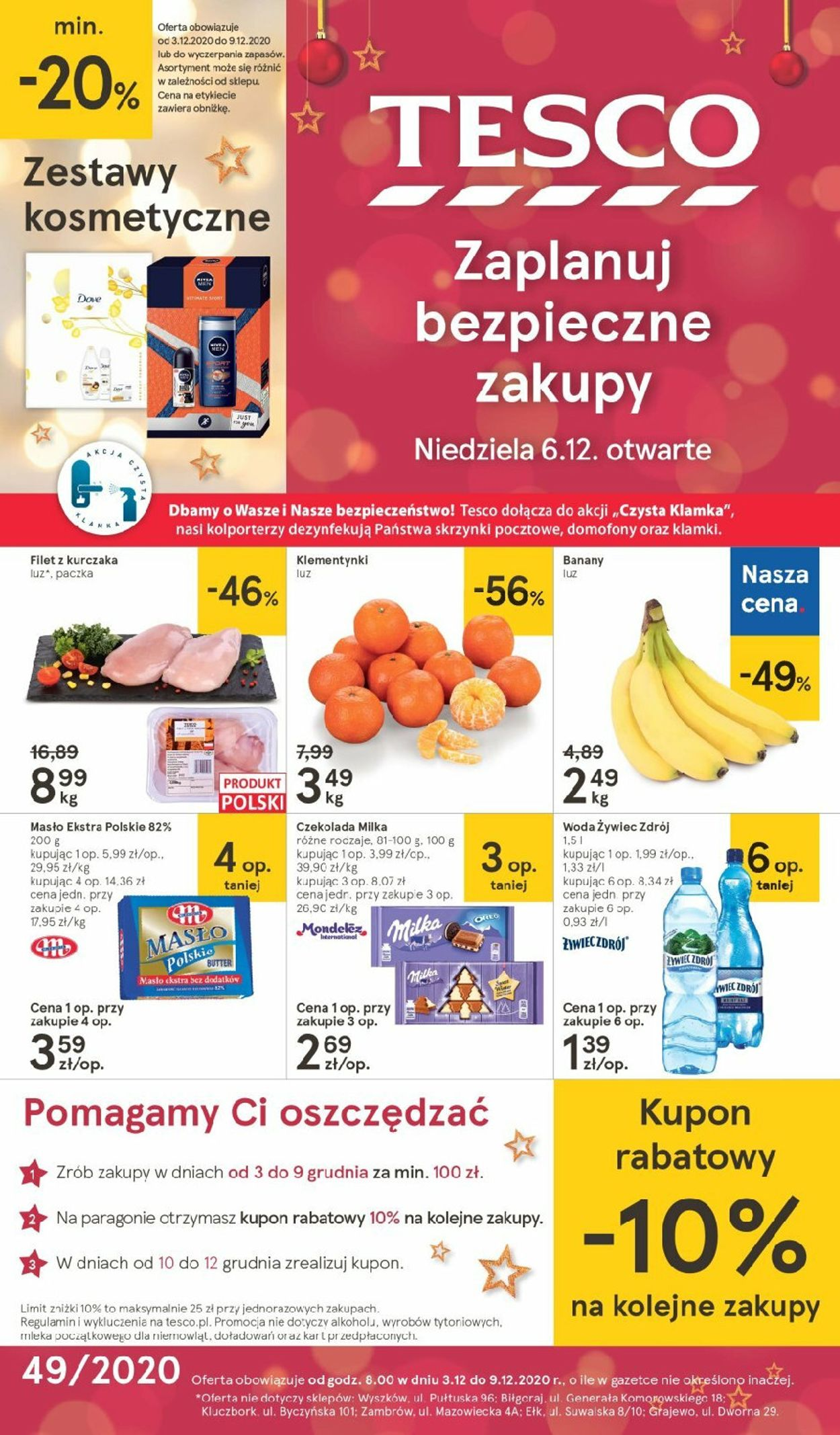 Gazetka promocyjna TESCO Gazetka Świąteczna 2020 - 03.12-09.12.2020