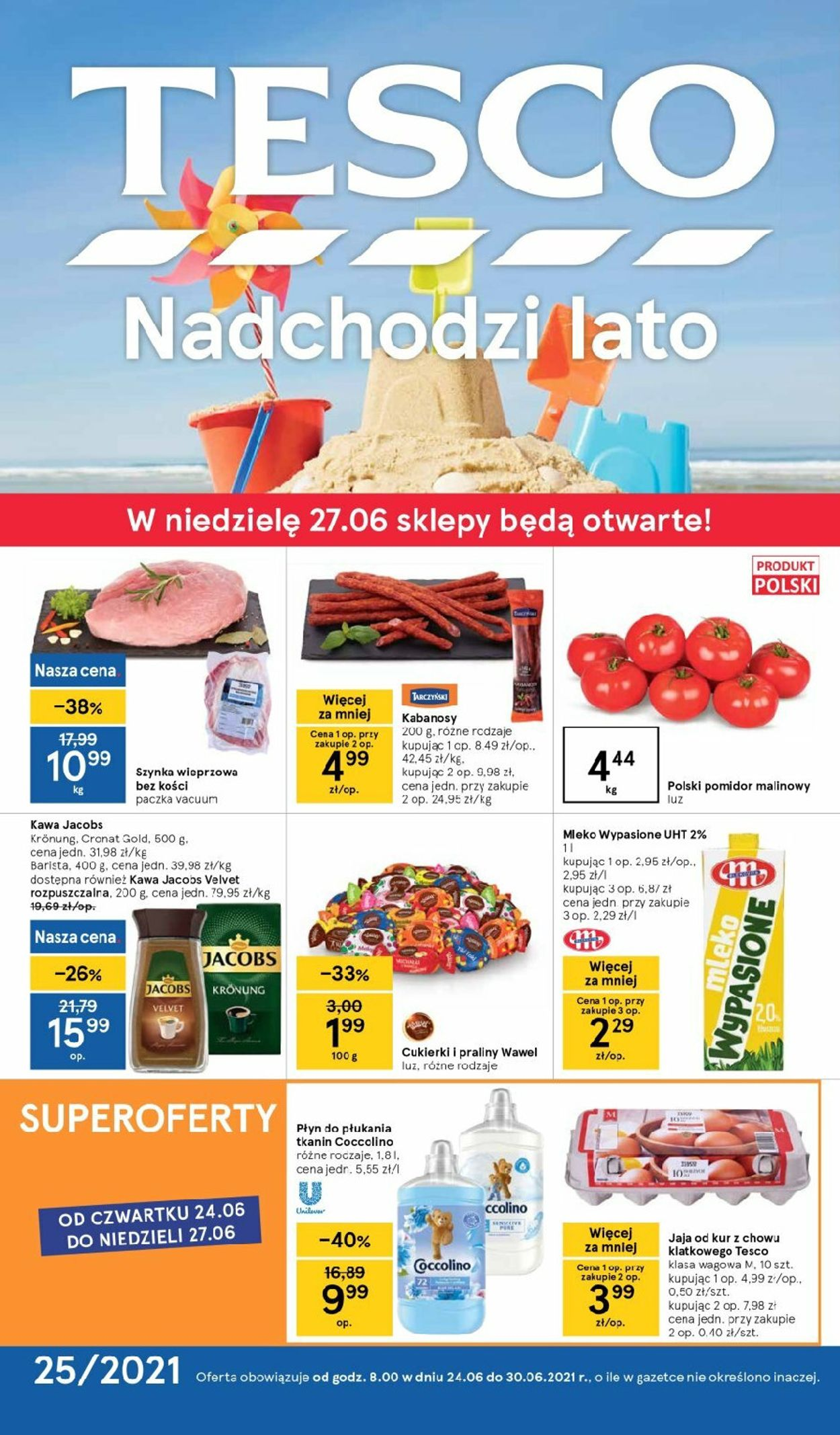 Gazetka promocyjna TESCO - 24.06-30.06.2021