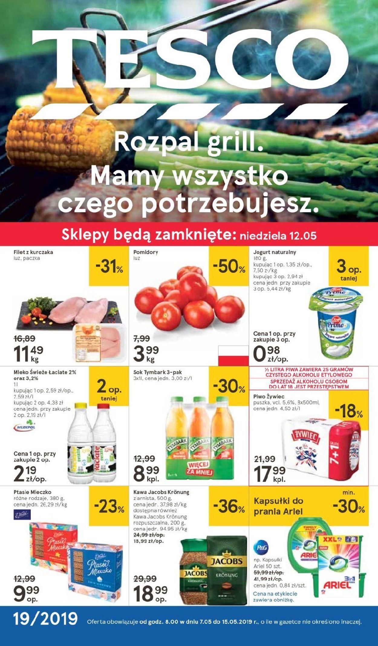 Gazetka promocyjna TESCO - 07.05-15.05.2019