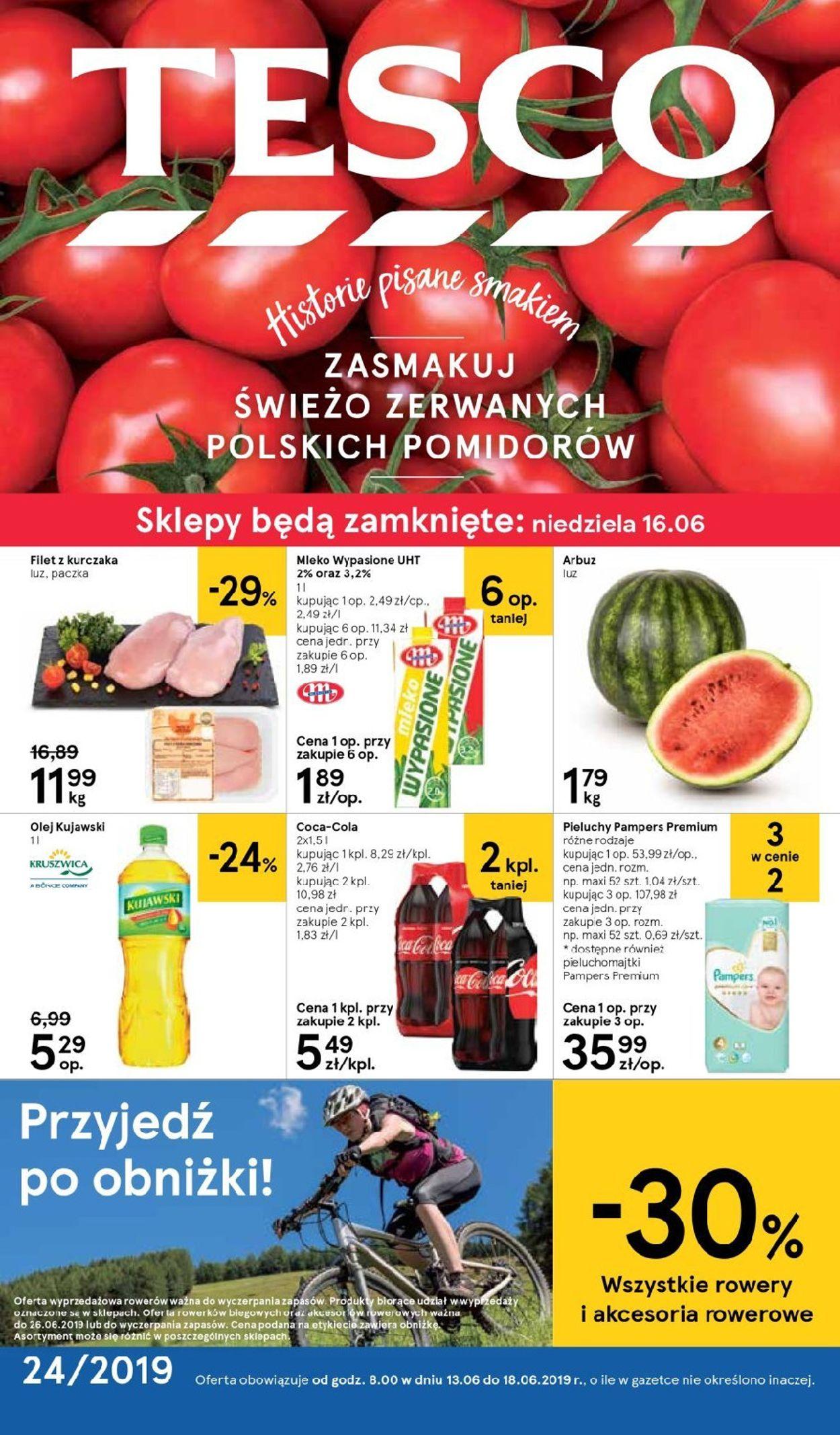 Gazetka promocyjna TESCO - 13.06-18.06.2019