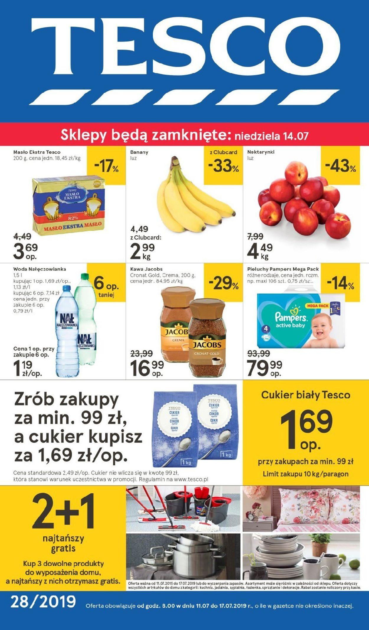 Gazetka promocyjna TESCO - 11.07-17.07.2019