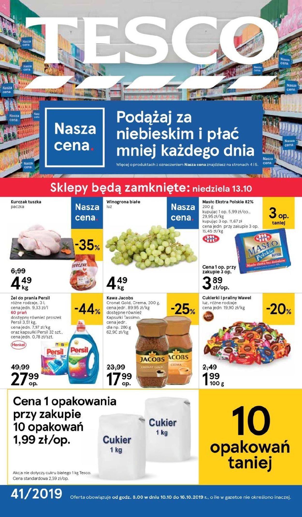 Gazetka promocyjna TESCO - 10.10-16.10.2019