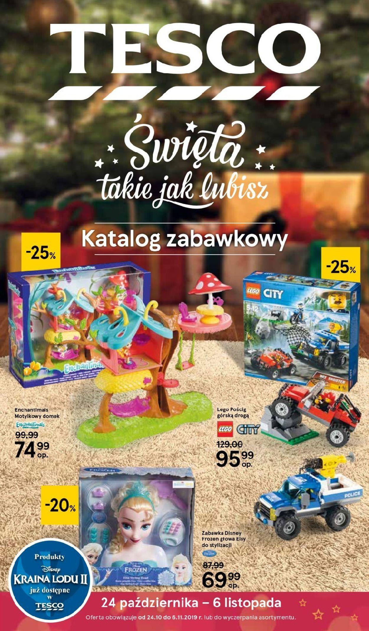 Gazetka promocyjna TESCO - 24.10-06.11.2019