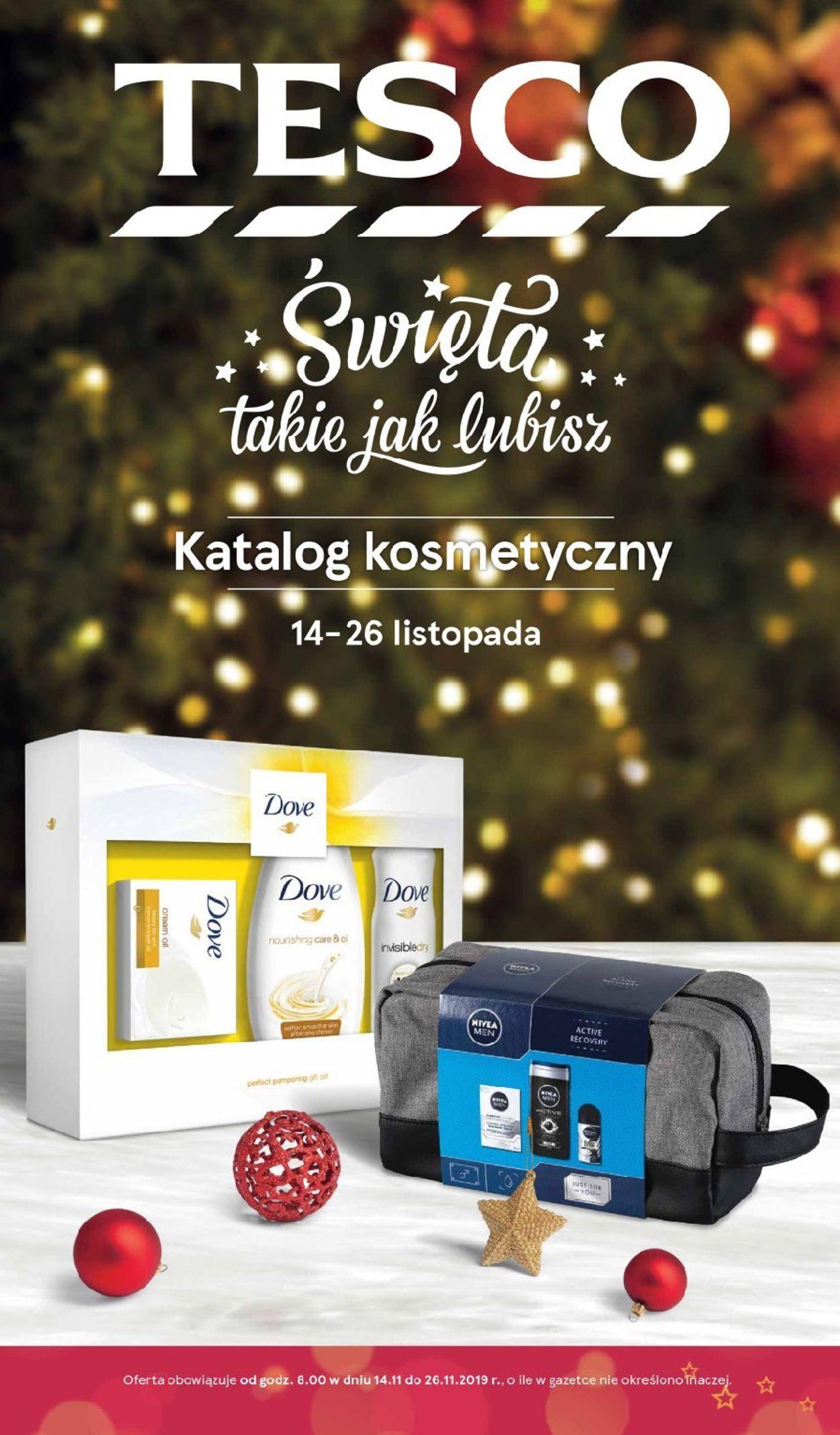 Gazetka promocyjna TESCO - 14.11-26.11.2019