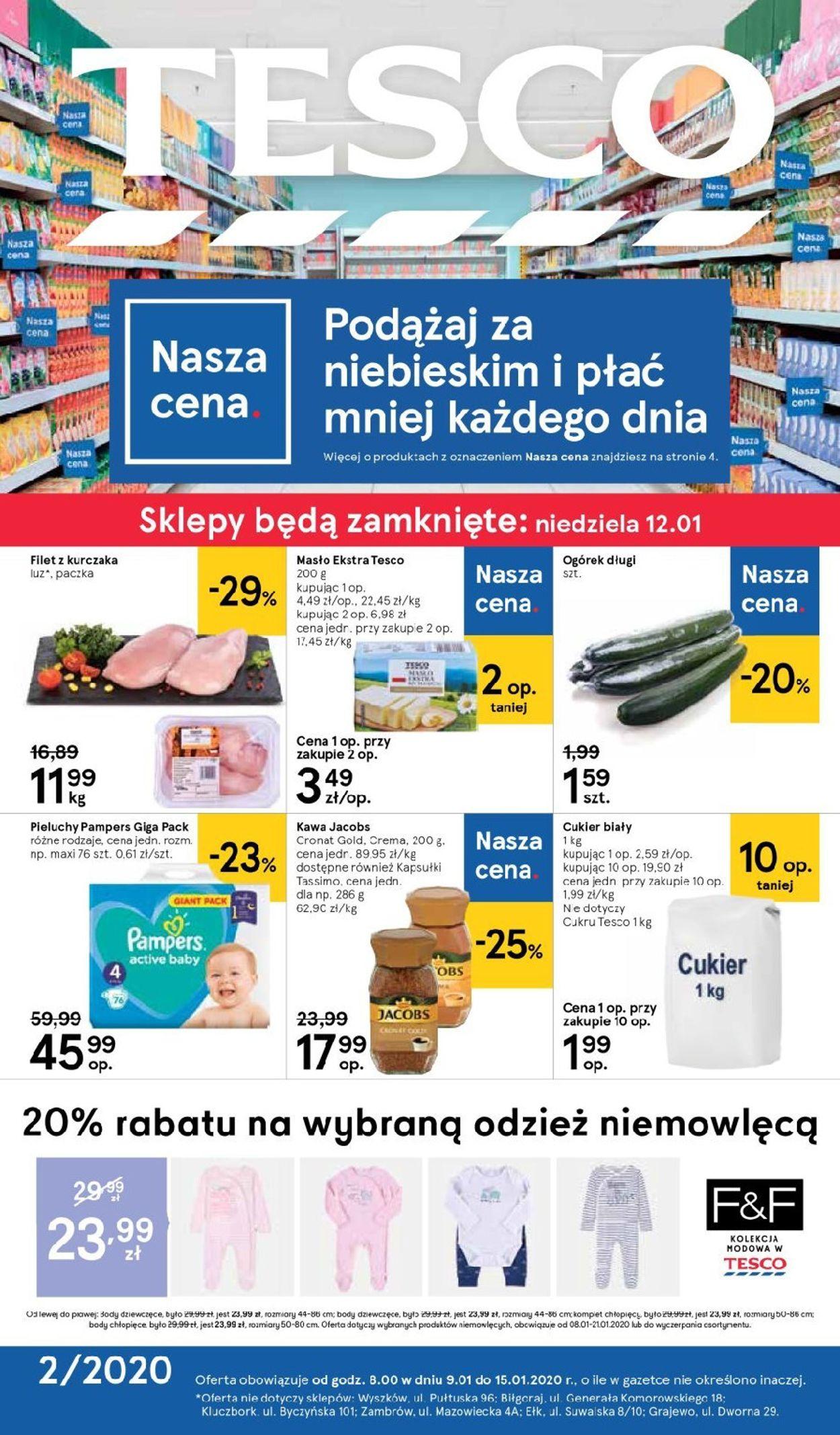 Gazetka promocyjna TESCO - 09.01-15.01.2020