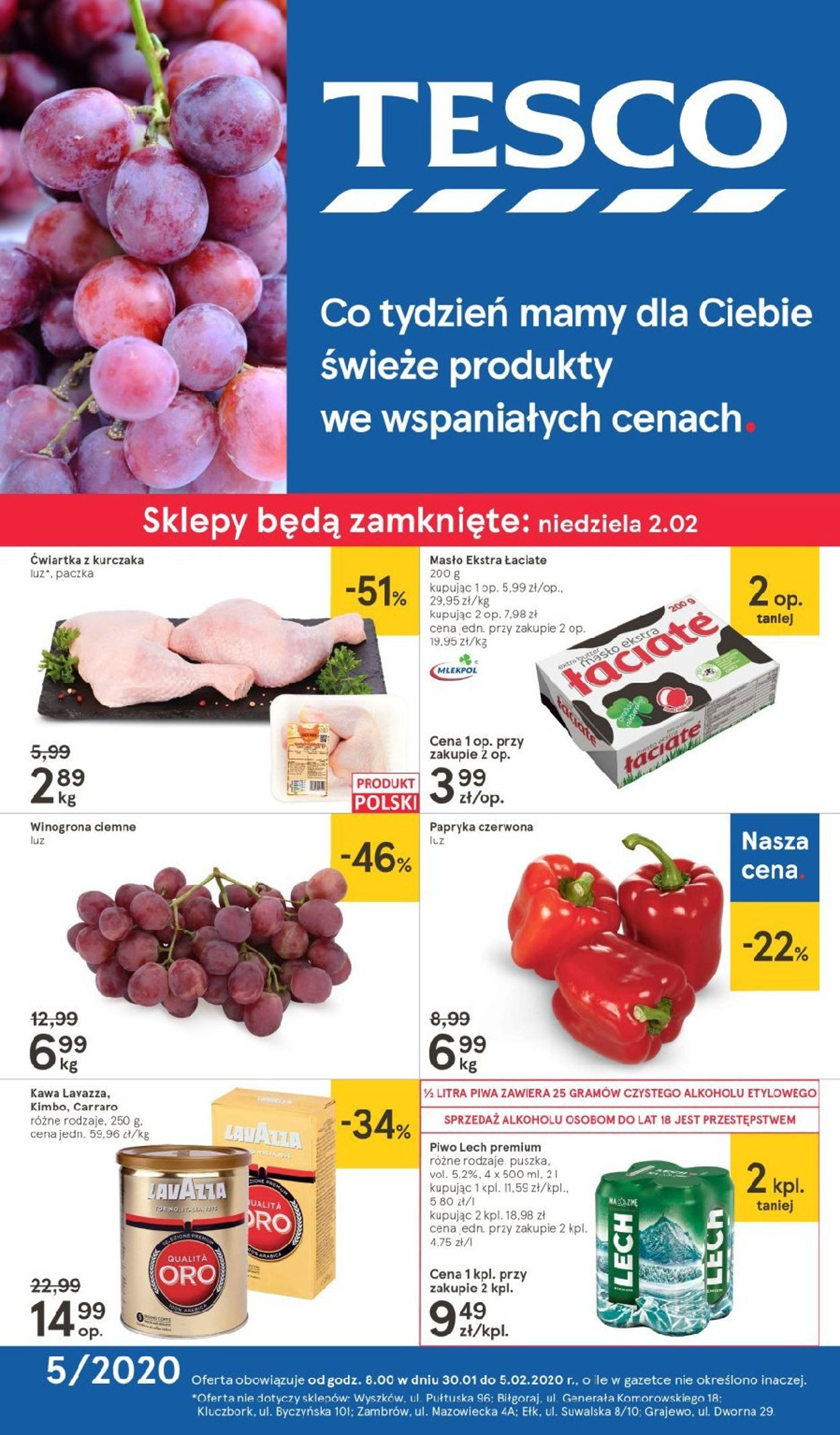Gazetka promocyjna TESCO - 30.01-05.02.2020