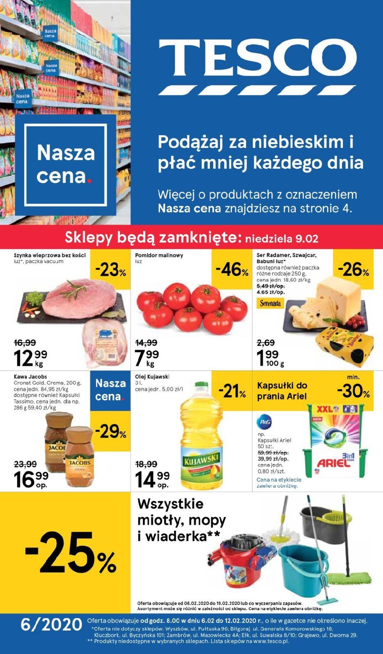 Gazetka promocyjna TESCO - 06.02-12.02.2020