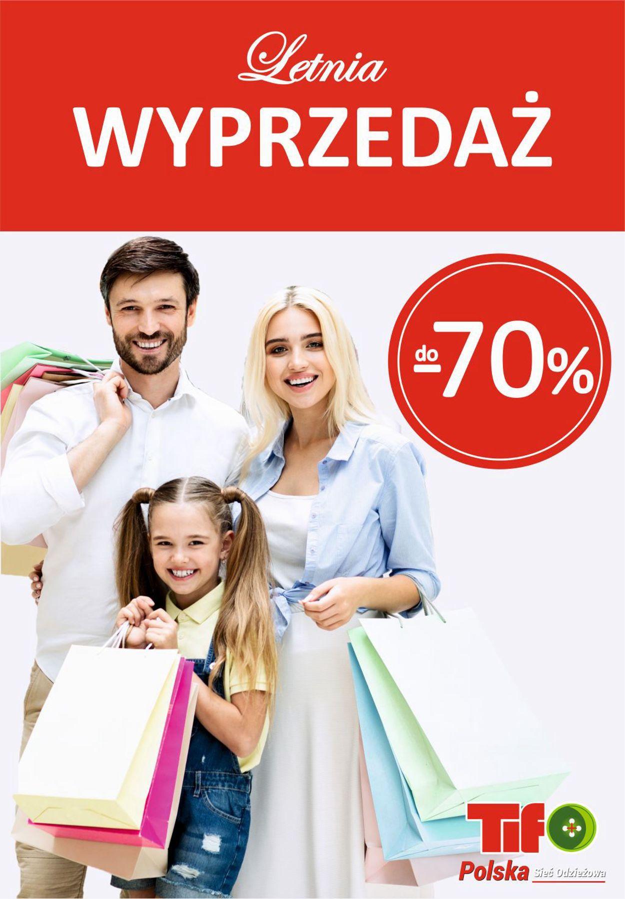 Gazetka promocyjna Tifo - 15.07-21.07.2020