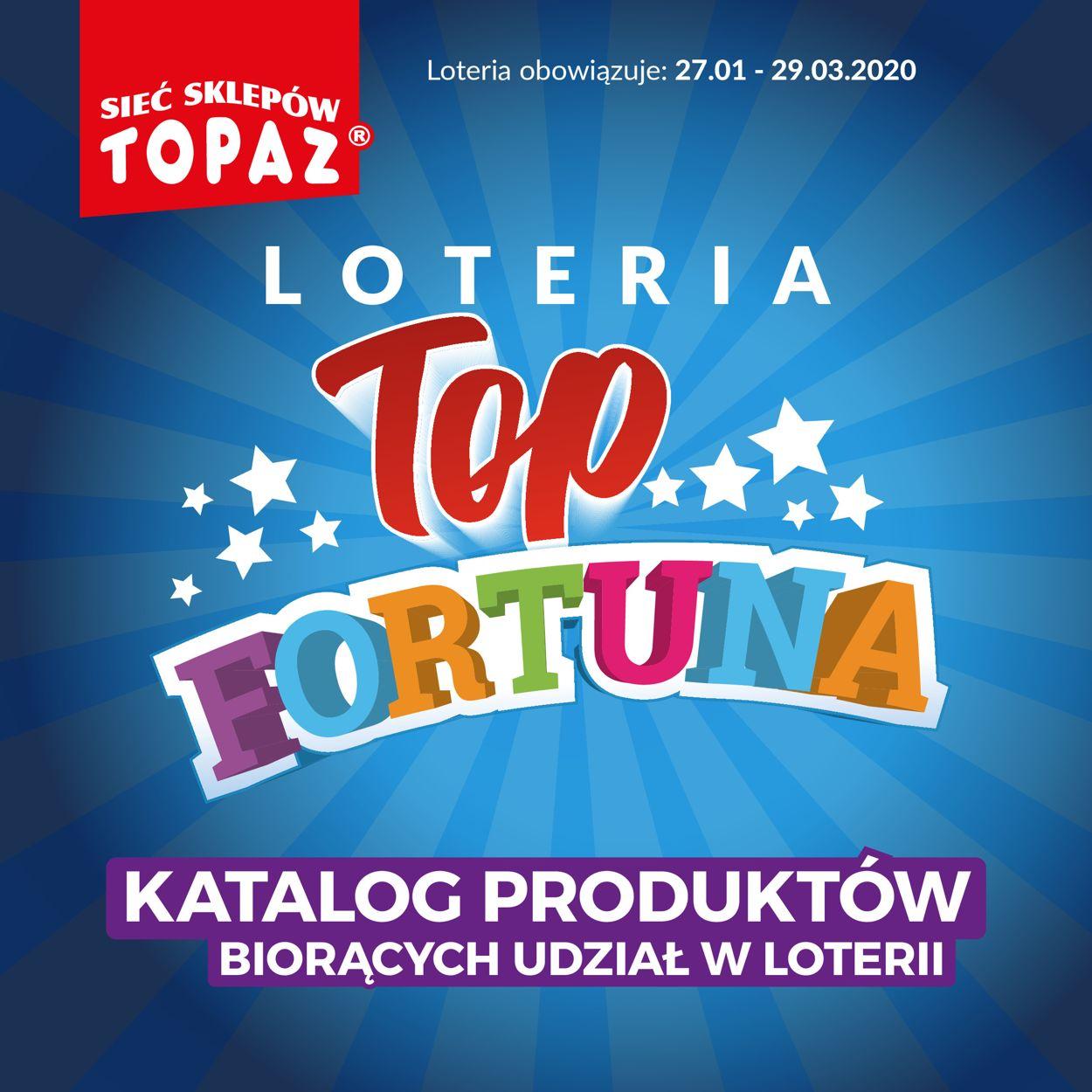 Gazetka promocyjna Topaz - 27.01-29.03.2020