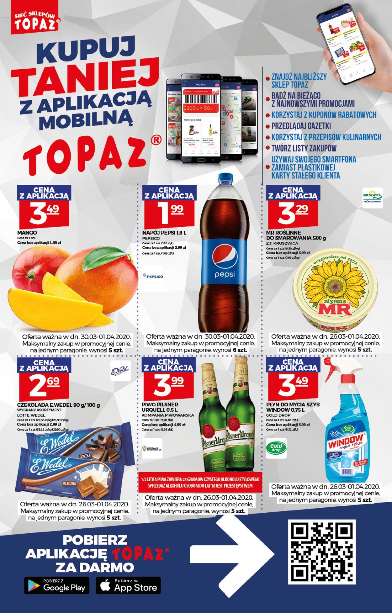 Gazetka promocyjna Topaz - 26.03-01.04.2020 (Strona 2)