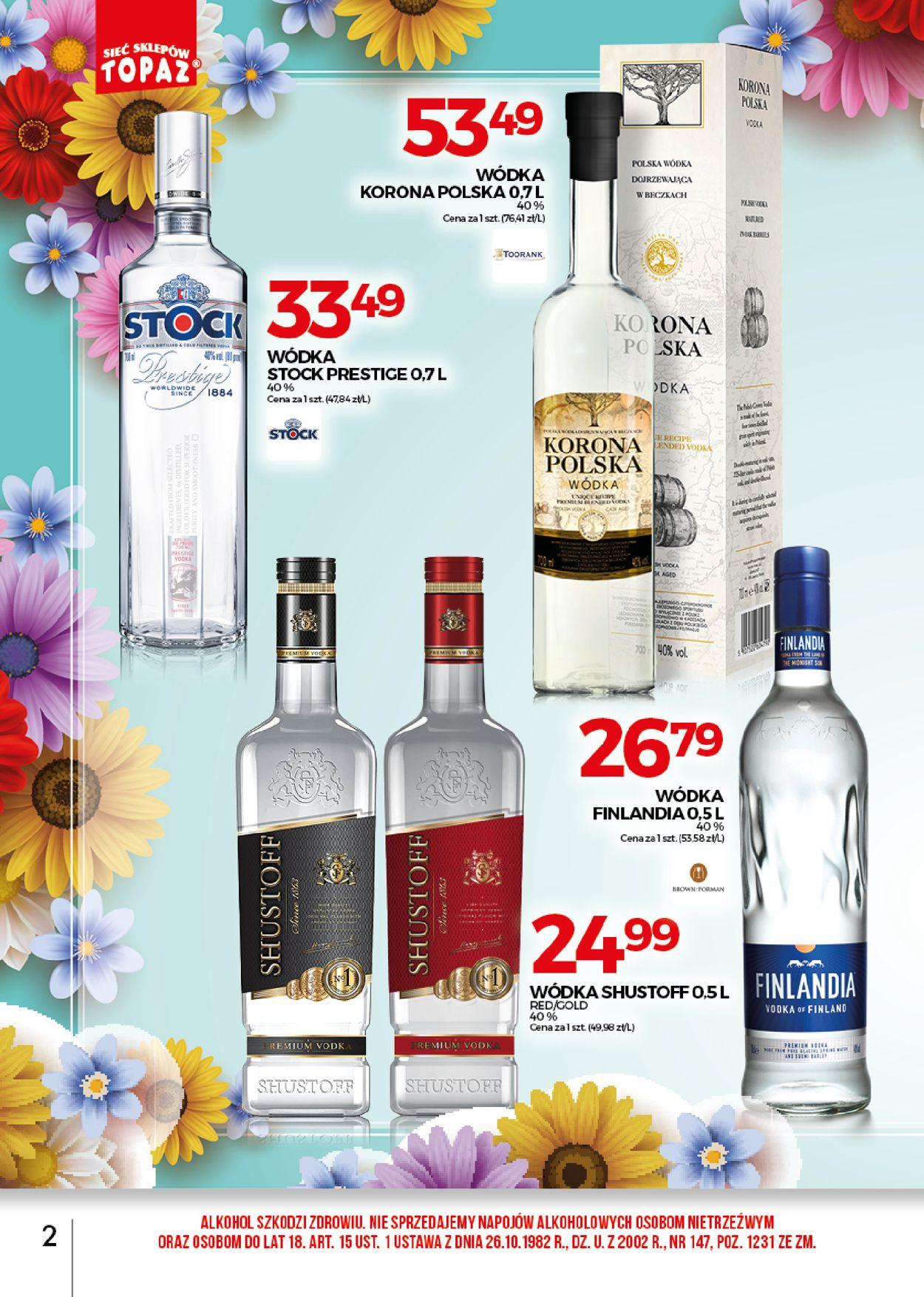 Gazetka promocyjna Topaz - 02.05-31.05.2020 (Strona 2)