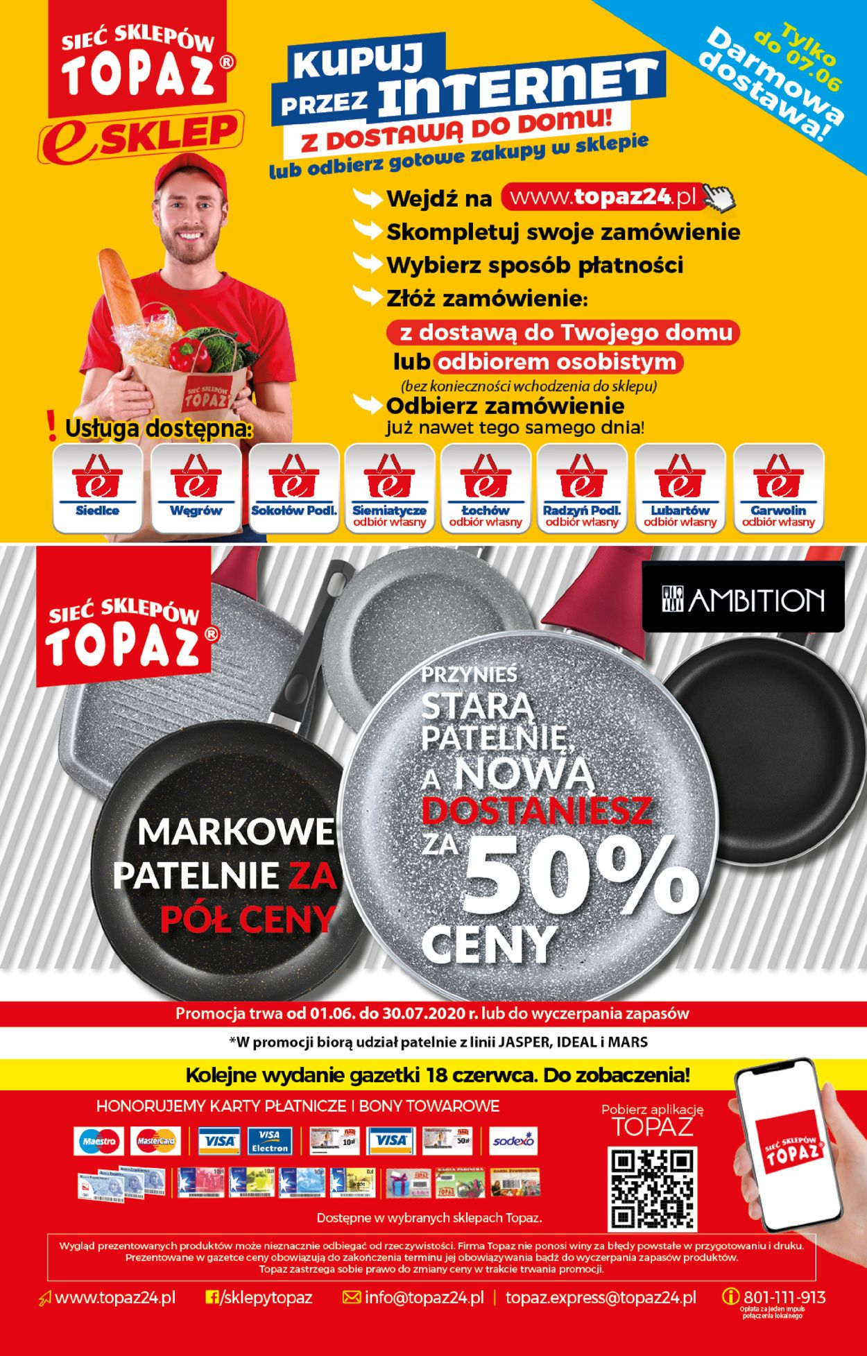 Gazetka promocyjna Topaz - 04.06-17.06.2020 (Strona 20)
