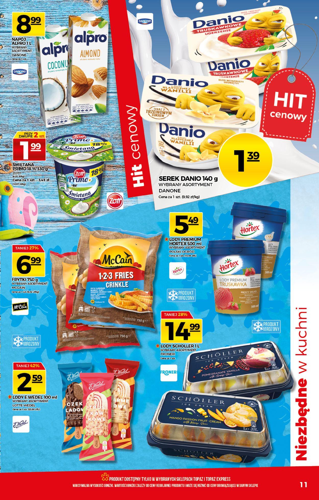 Gazetka promocyjna Topaz - 30.07-05.08.2020 (Strona 11)