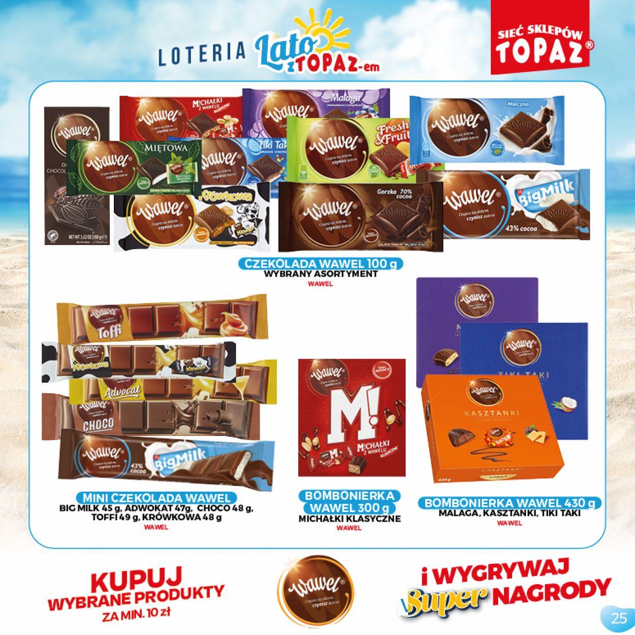 Gazetka promocyjna Topaz - 05.07-05.09.2021 (Strona 25)