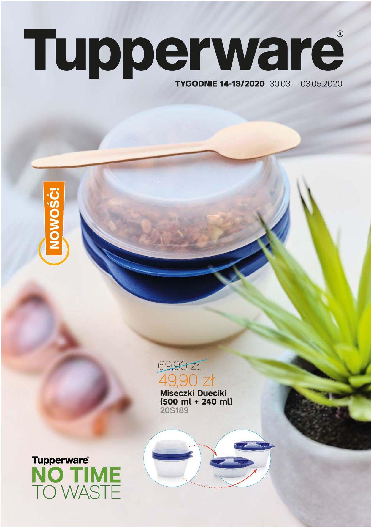 Gazetka promocyjna Tupperware - 30.03-03.05.2020