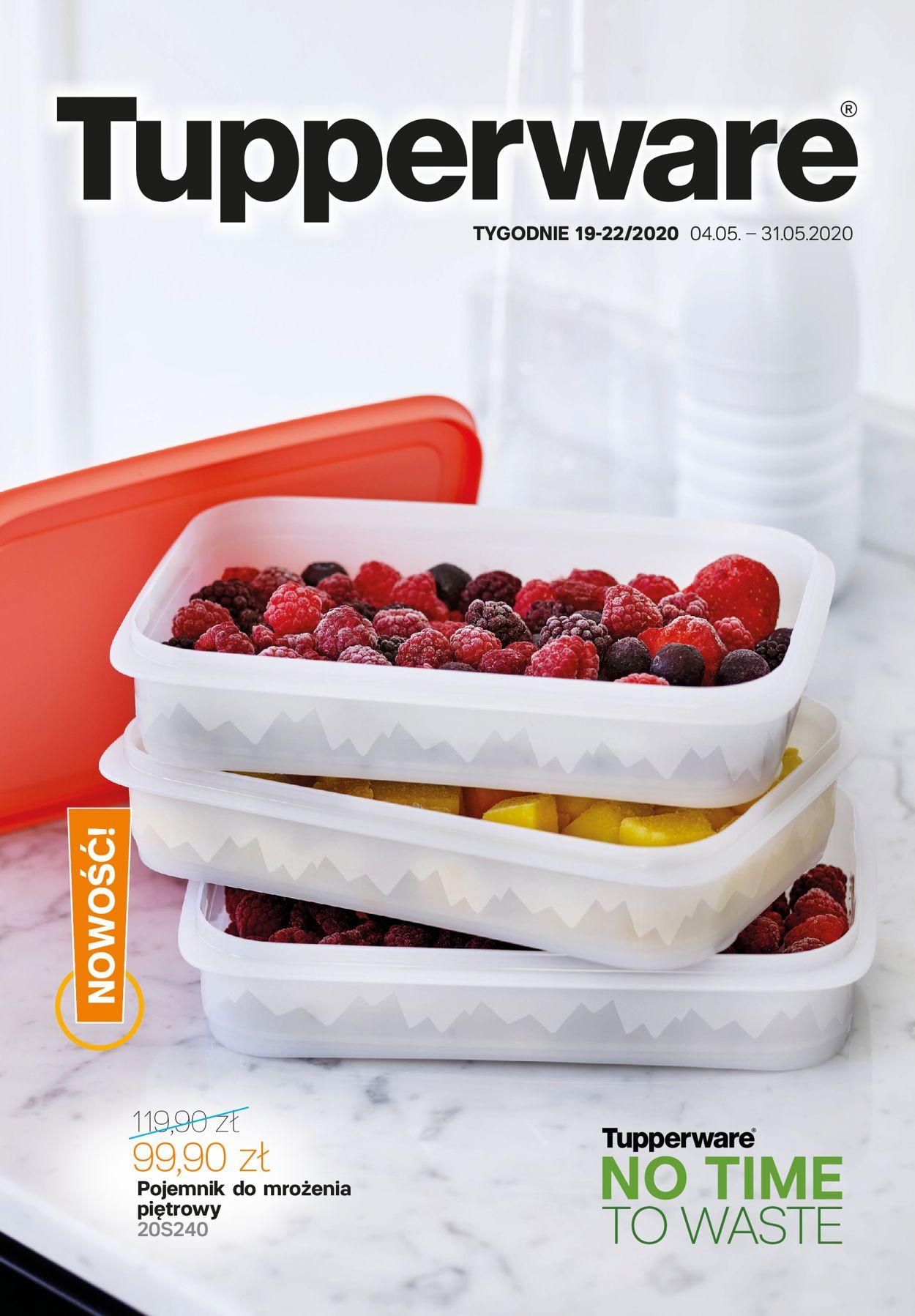 Gazetka promocyjna Tupperware - 04.05-31.05.2020