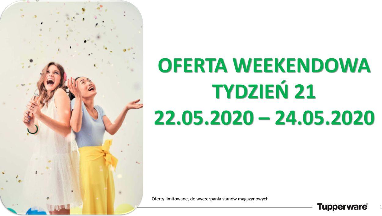 Gazetka promocyjna Tupperware - 22.05-24.05.2020