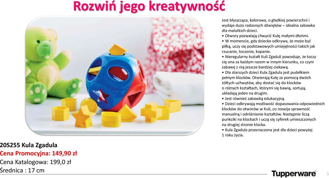 Gazetka promocyjna Tupperware - 22.05-24.05.2020 (Strona 5)