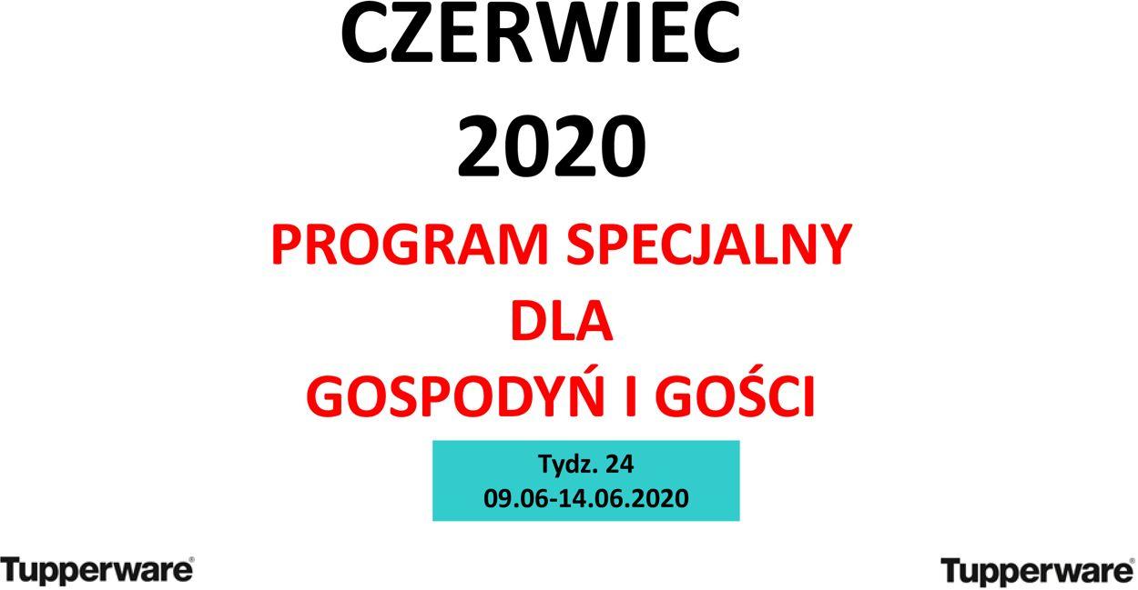 Gazetka promocyjna Tupperware - 09.06-14.06.2020
