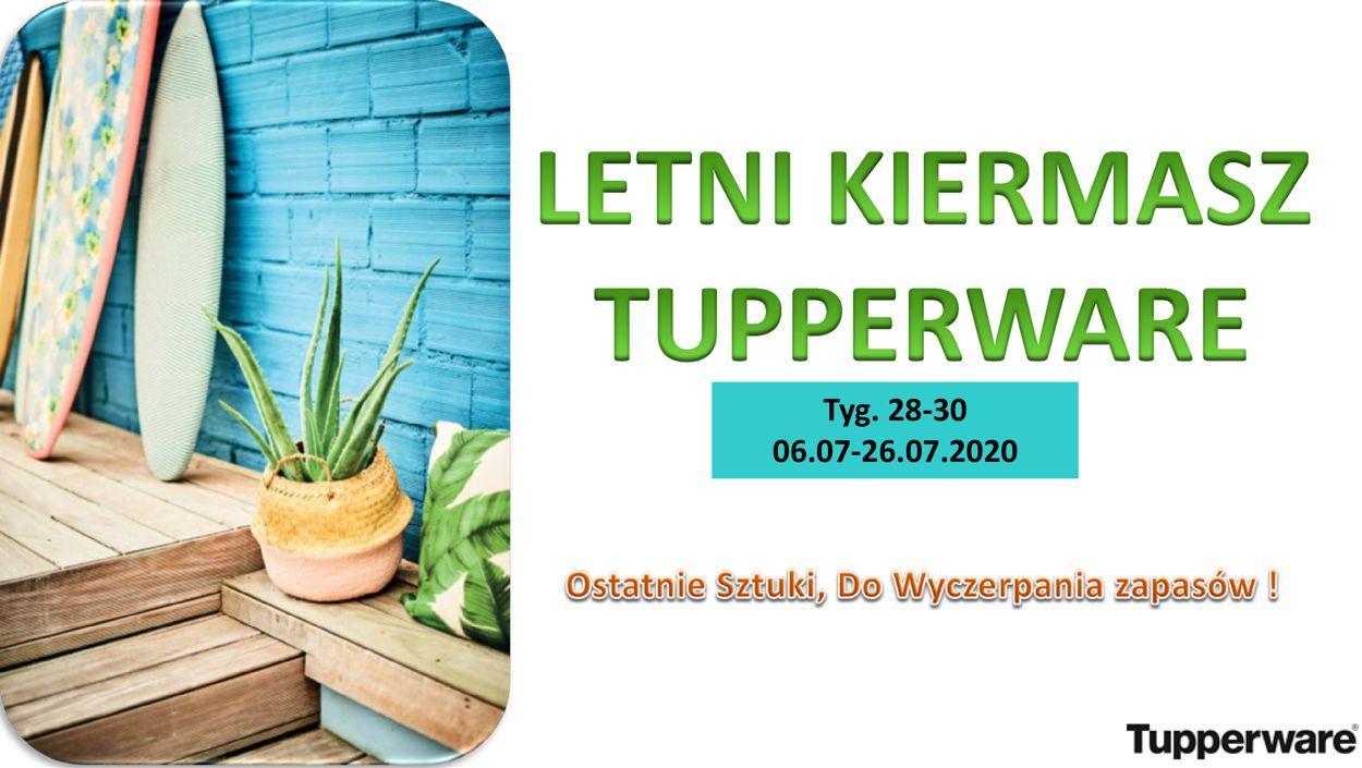 Gazetka promocyjna Tupperware - 06.07-26.07.2020