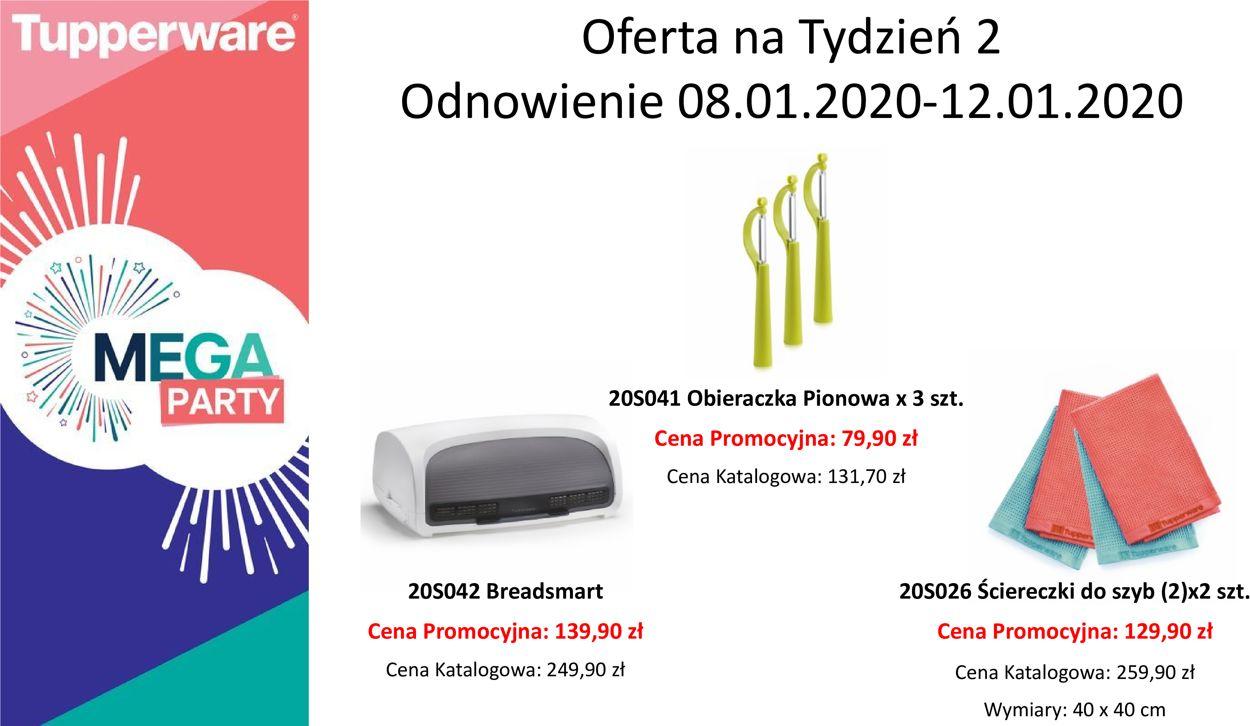 Gazetka promocyjna Tupperware - 08.01-12.01.2020