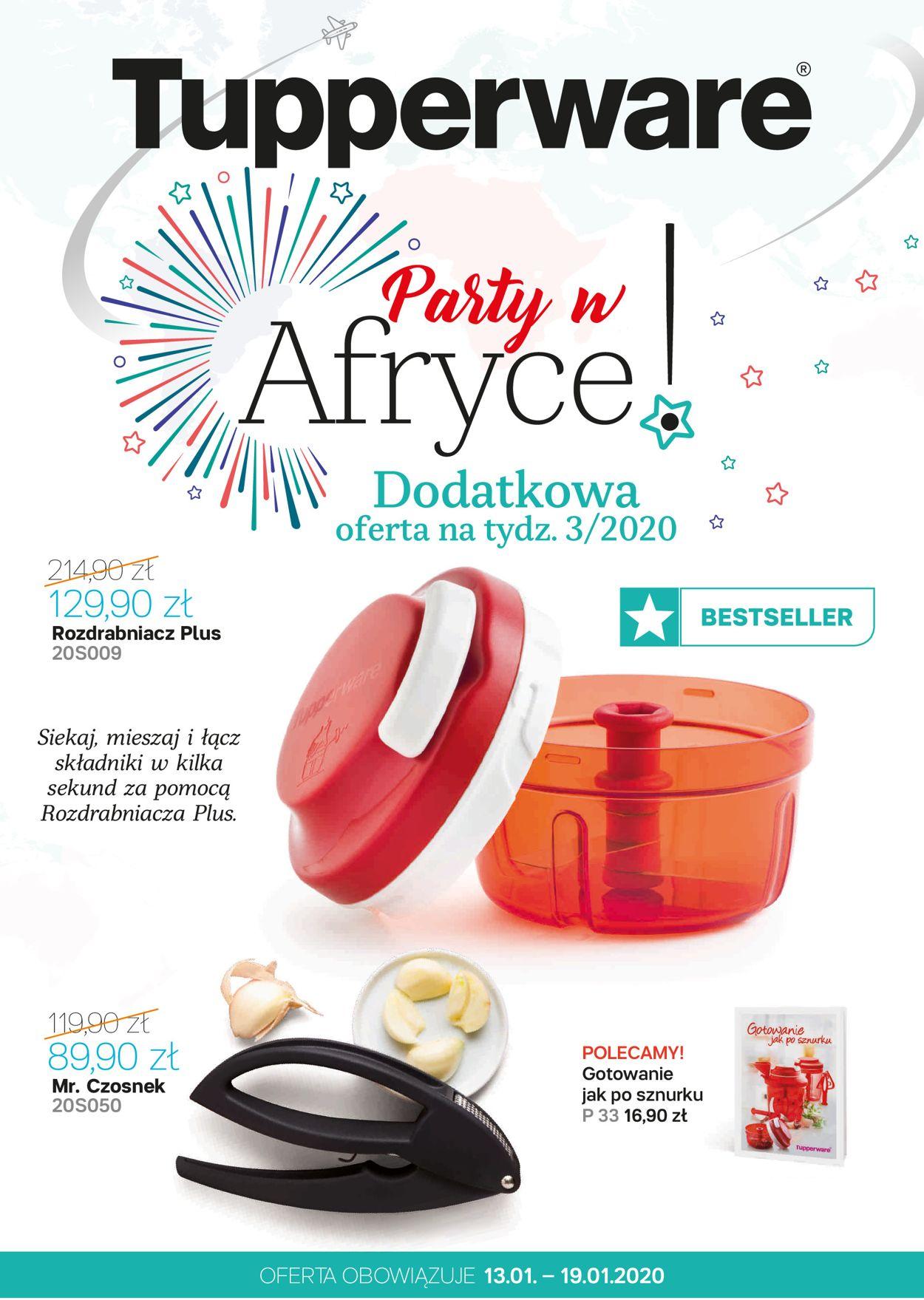 Gazetka promocyjna Tupperware - 13.01-19.01.2020