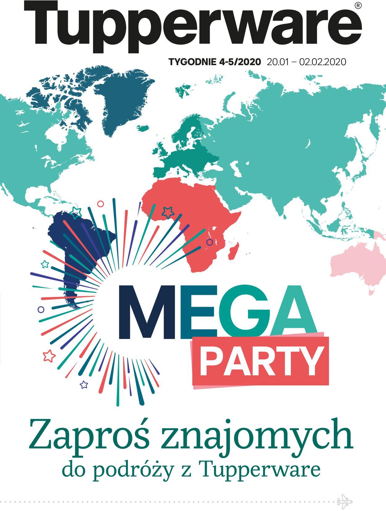Gazetka promocyjna Tupperware - 20.01-02.02.2020