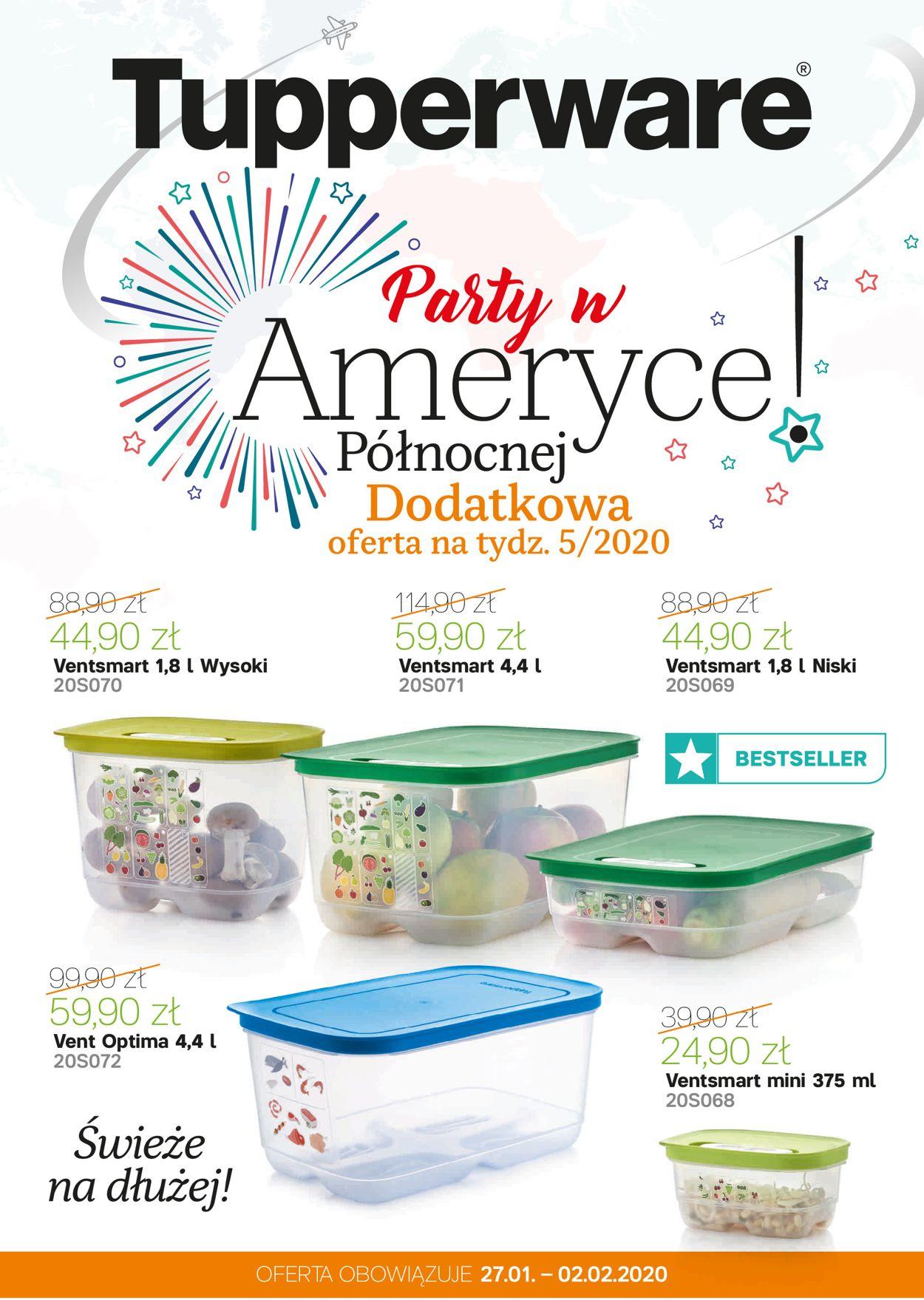 Gazetka promocyjna Tupperware - 27.01-02.02.2020