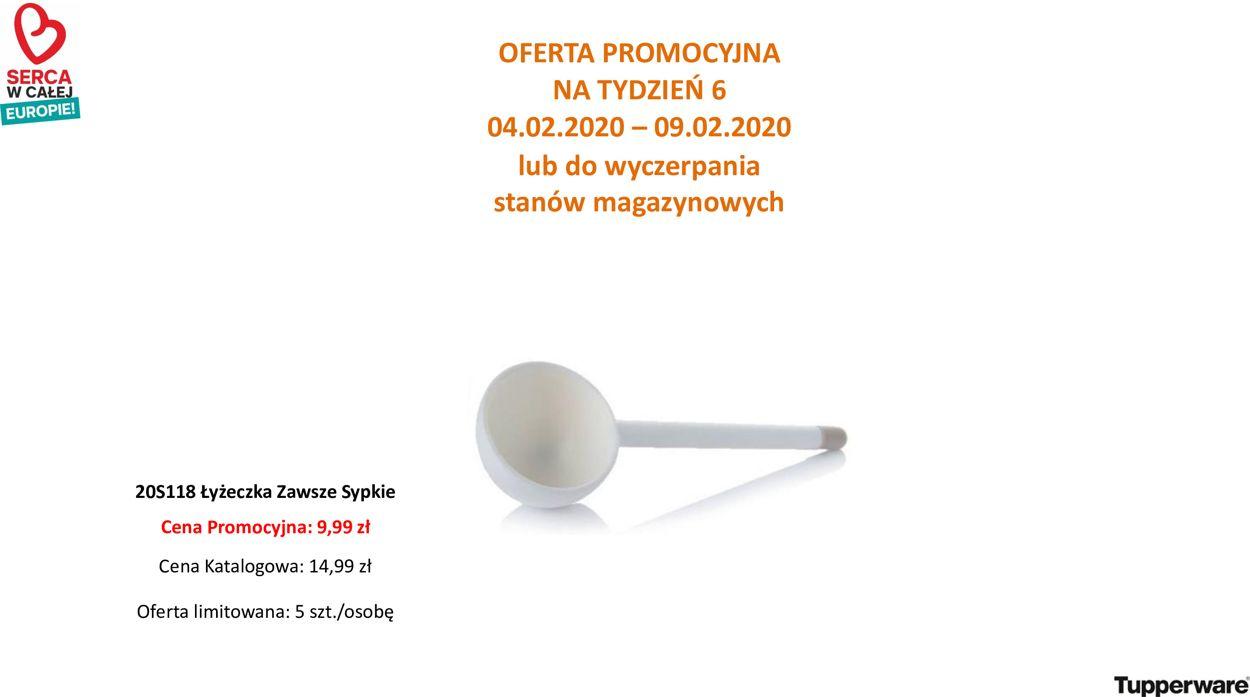 Gazetka promocyjna Tupperware - 04.02-09.02.2020