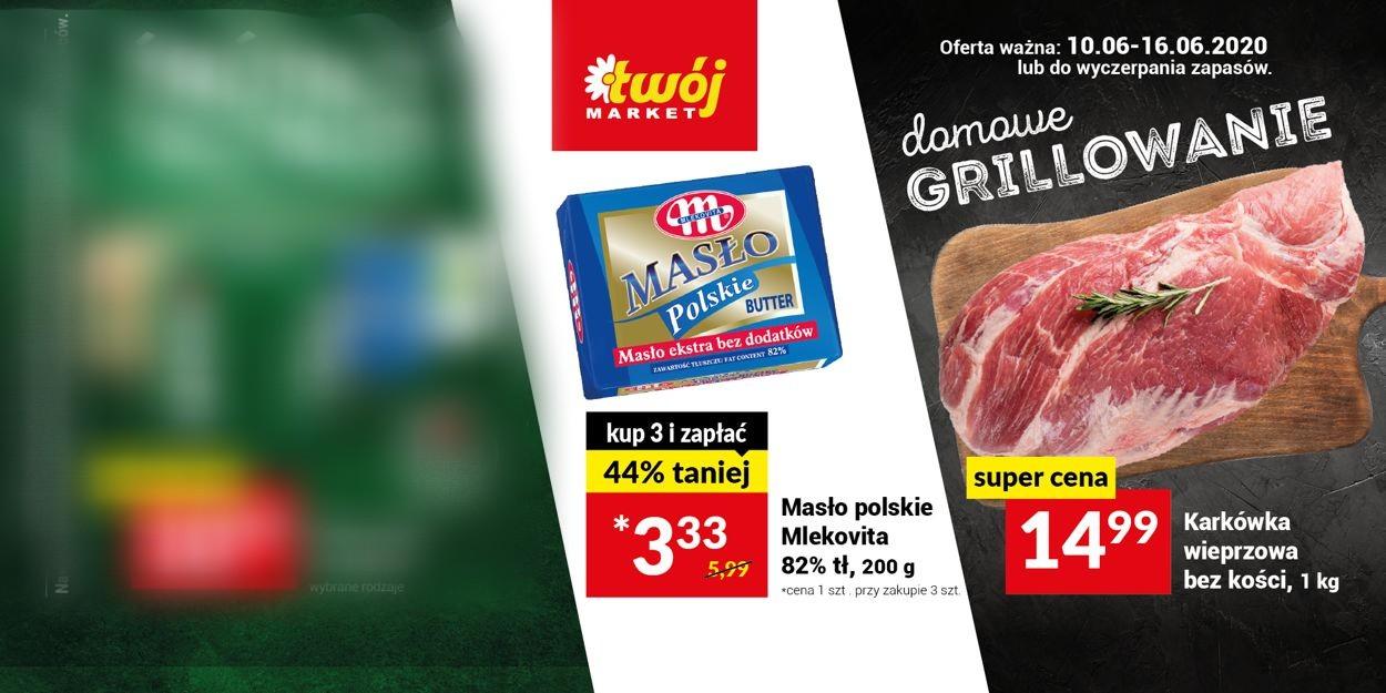 Gazetka promocyjna Twój Market - 10.06-16.06.2020