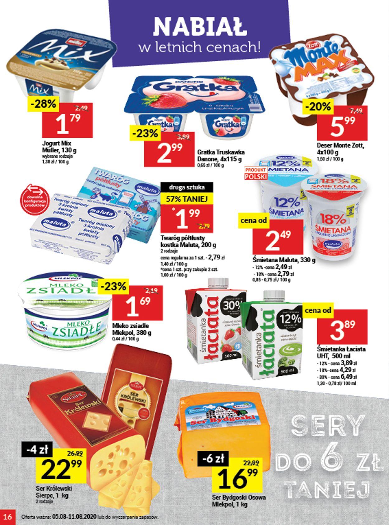 Gazetka promocyjna Twój Market - 05.08-11.08.2020 (Strona 16)