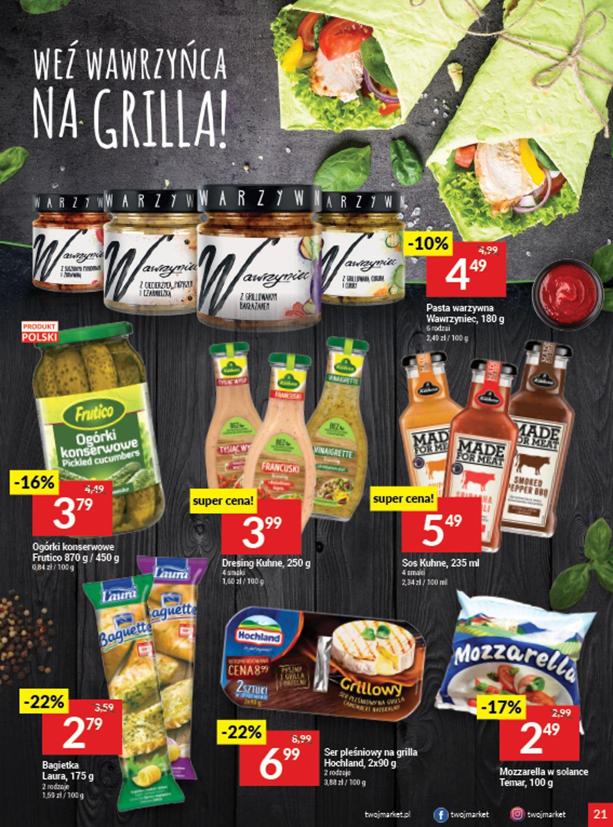 Gazetka promocyjna Twój Market - 05.08-11.08.2020 (Strona 21)