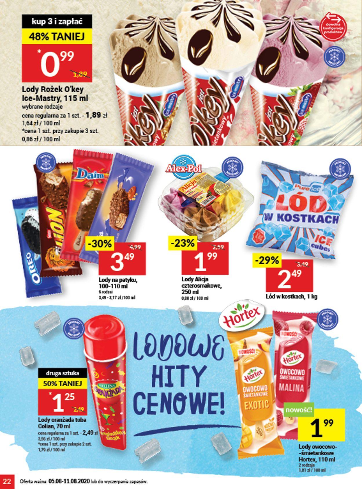 Gazetka promocyjna Twój Market - 05.08-11.08.2020 (Strona 22)