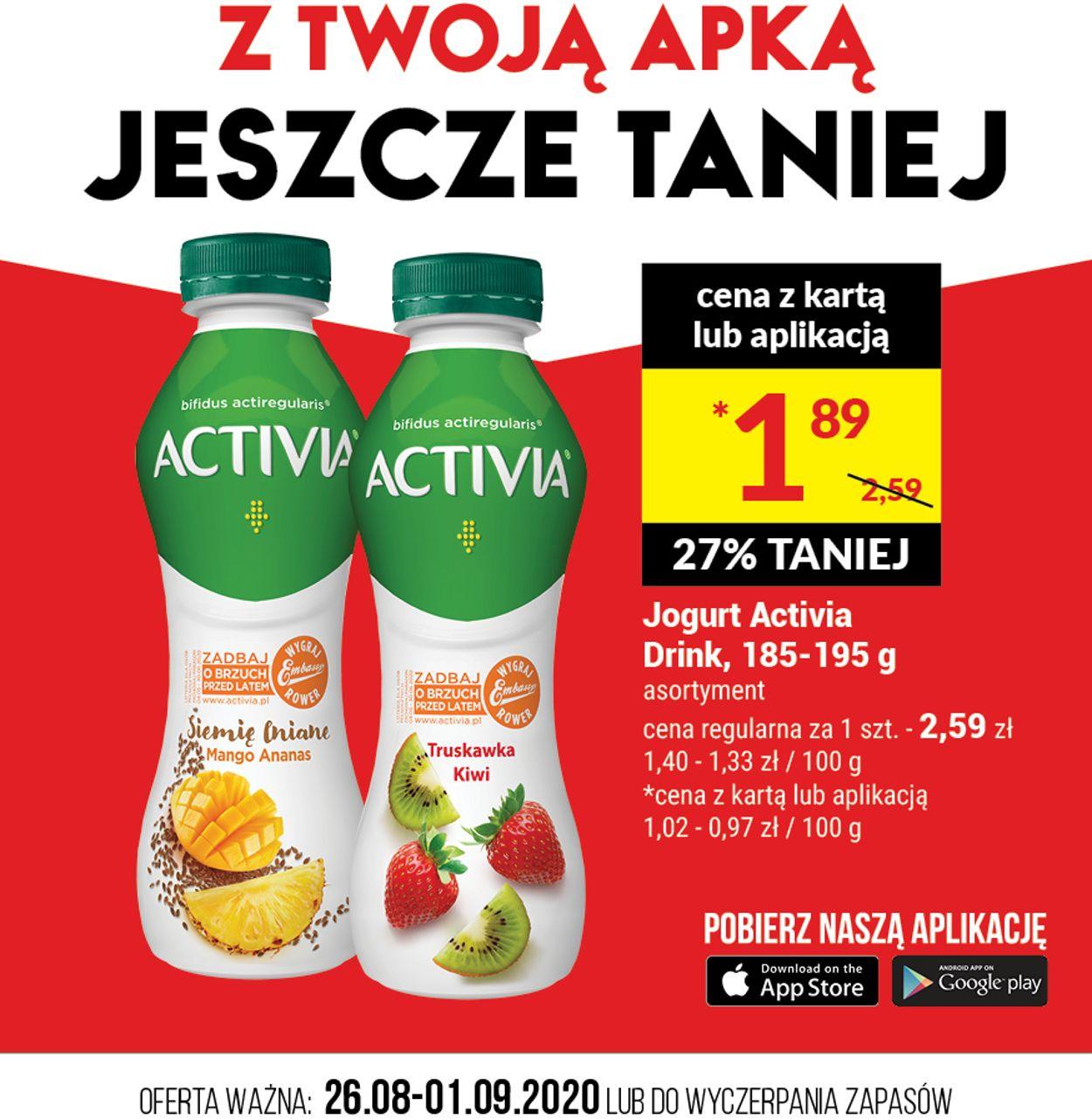 Gazetka promocyjna Twój Market - 26.08-01.09.2020