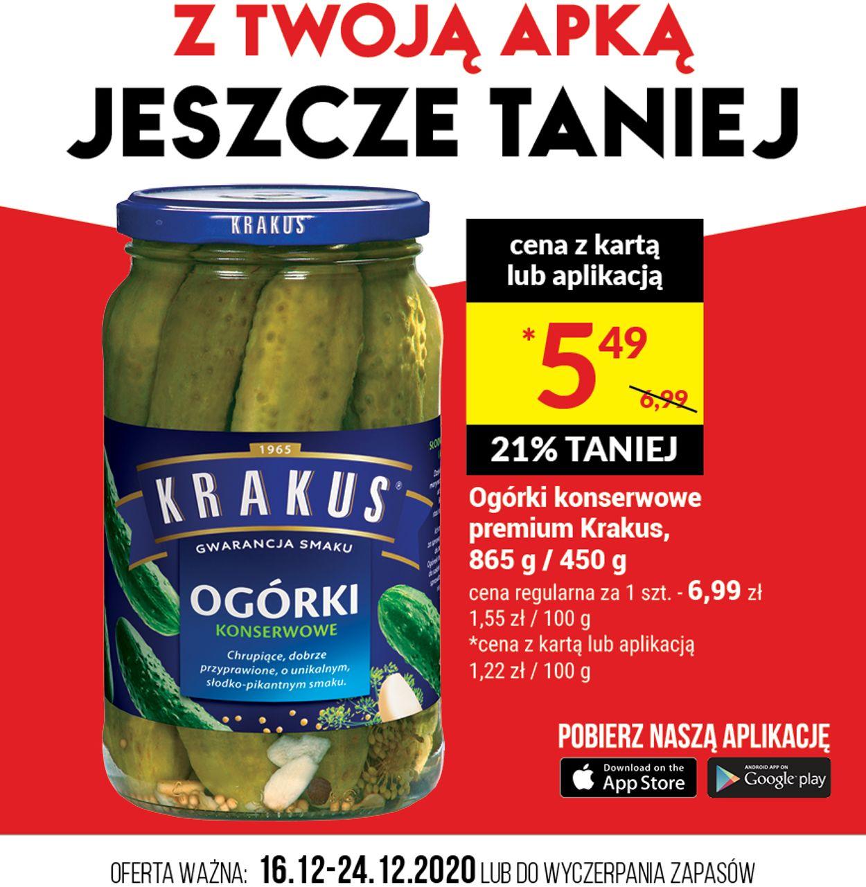 Gazetka promocyjna Twój Market - 16.12-24.12.2020
