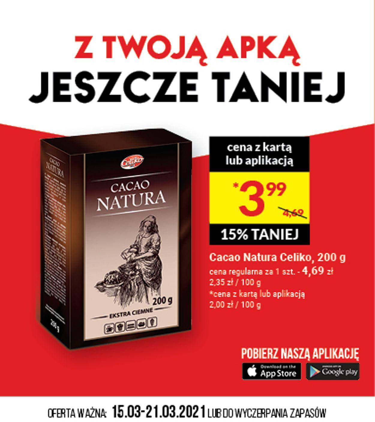 Gazetka promocyjna Twój Market - 15.03-21.03.2021