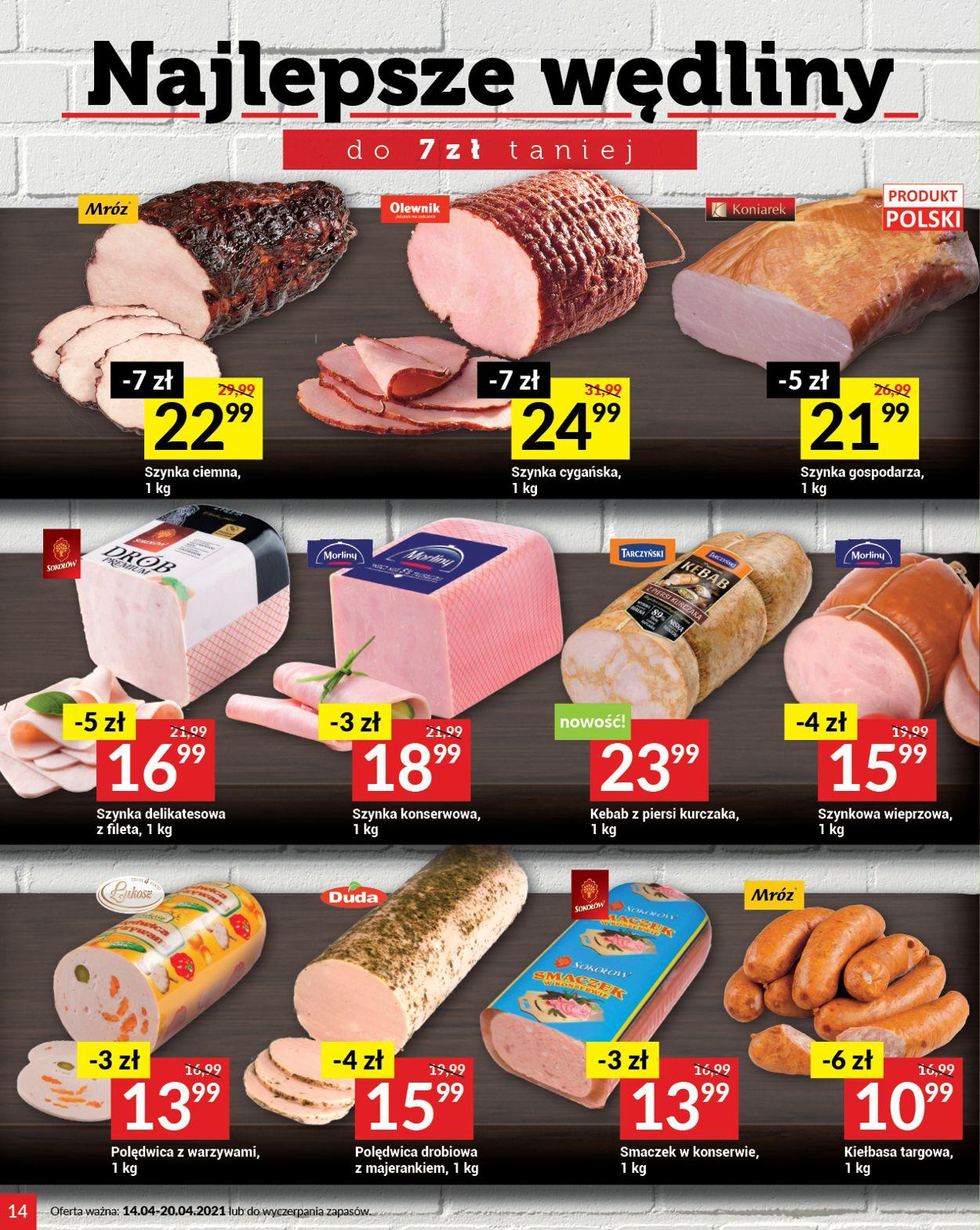 Gazetka promocyjna Twój Market - 14.04-20.04.2021 (Strona 14)