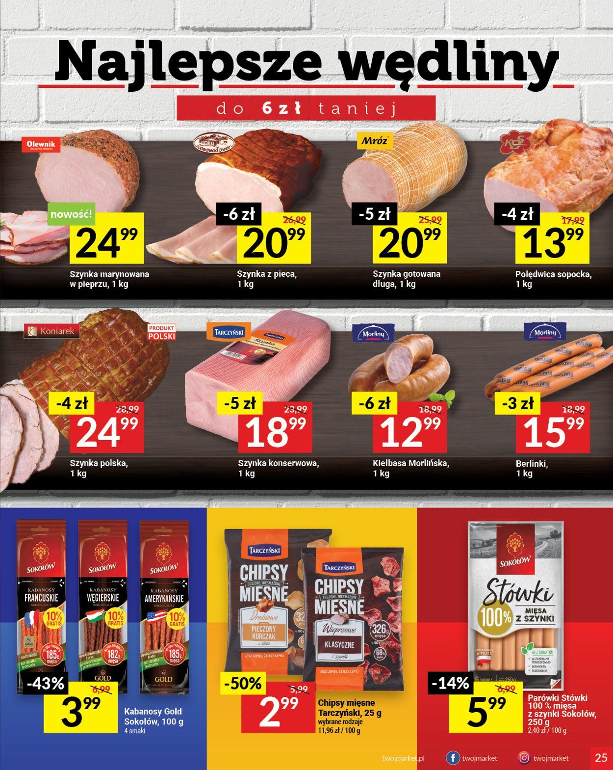 Gazetka promocyjna Twój Market - 28.04-04.05.2021 (Strona 25)