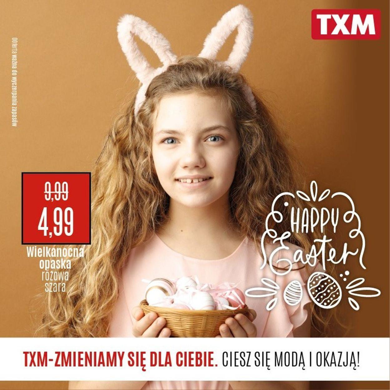 Gazetka promocyjna TXM - 08.04-15.04.2020
