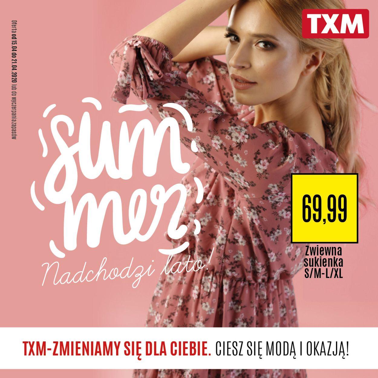 Gazetka promocyjna TXM - 15.04-21.04.2020
