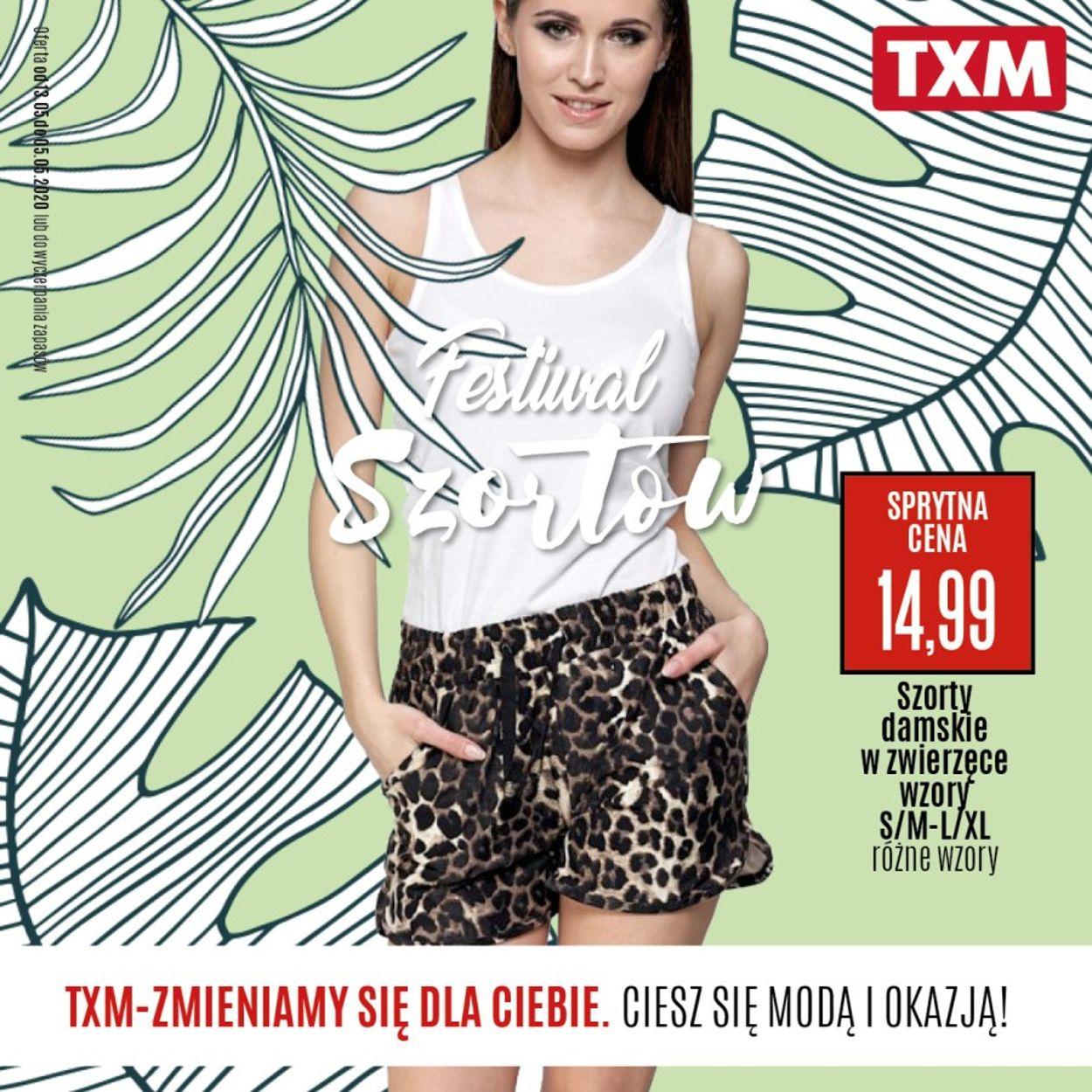 Gazetka promocyjna TXM - 13.05-05.06.2020