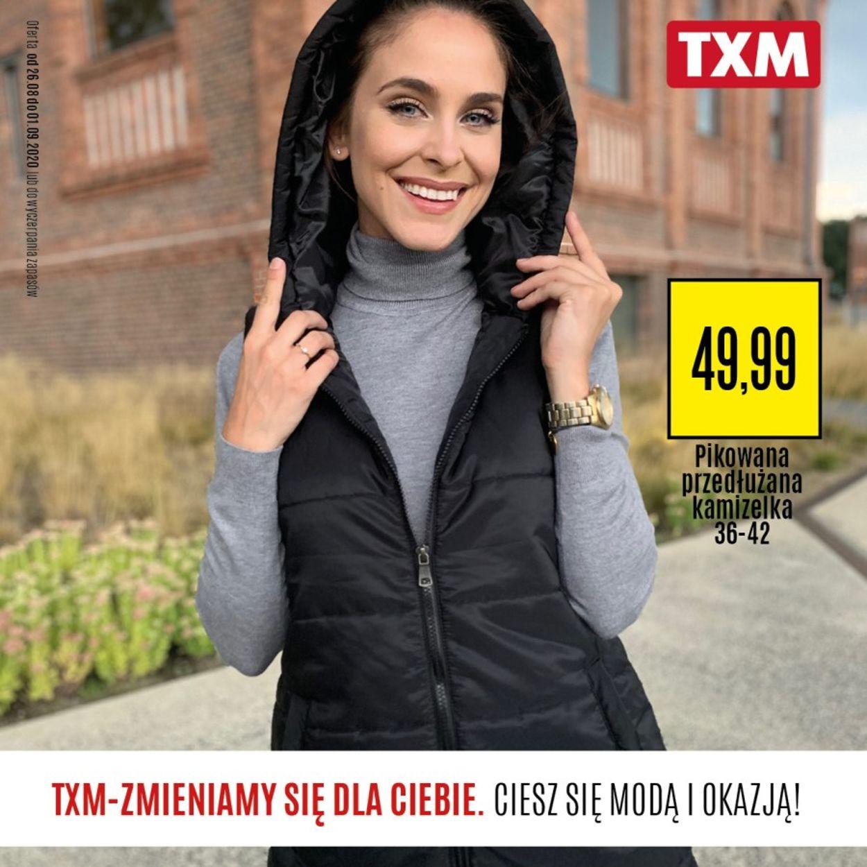 Gazetka promocyjna TXM - 26.08-01.09.2020