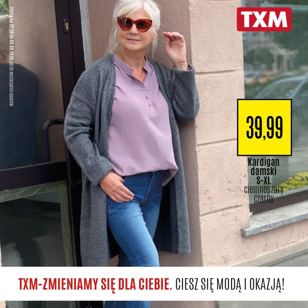 Gazetka promocyjna TXM - 02.09-08.09.2020