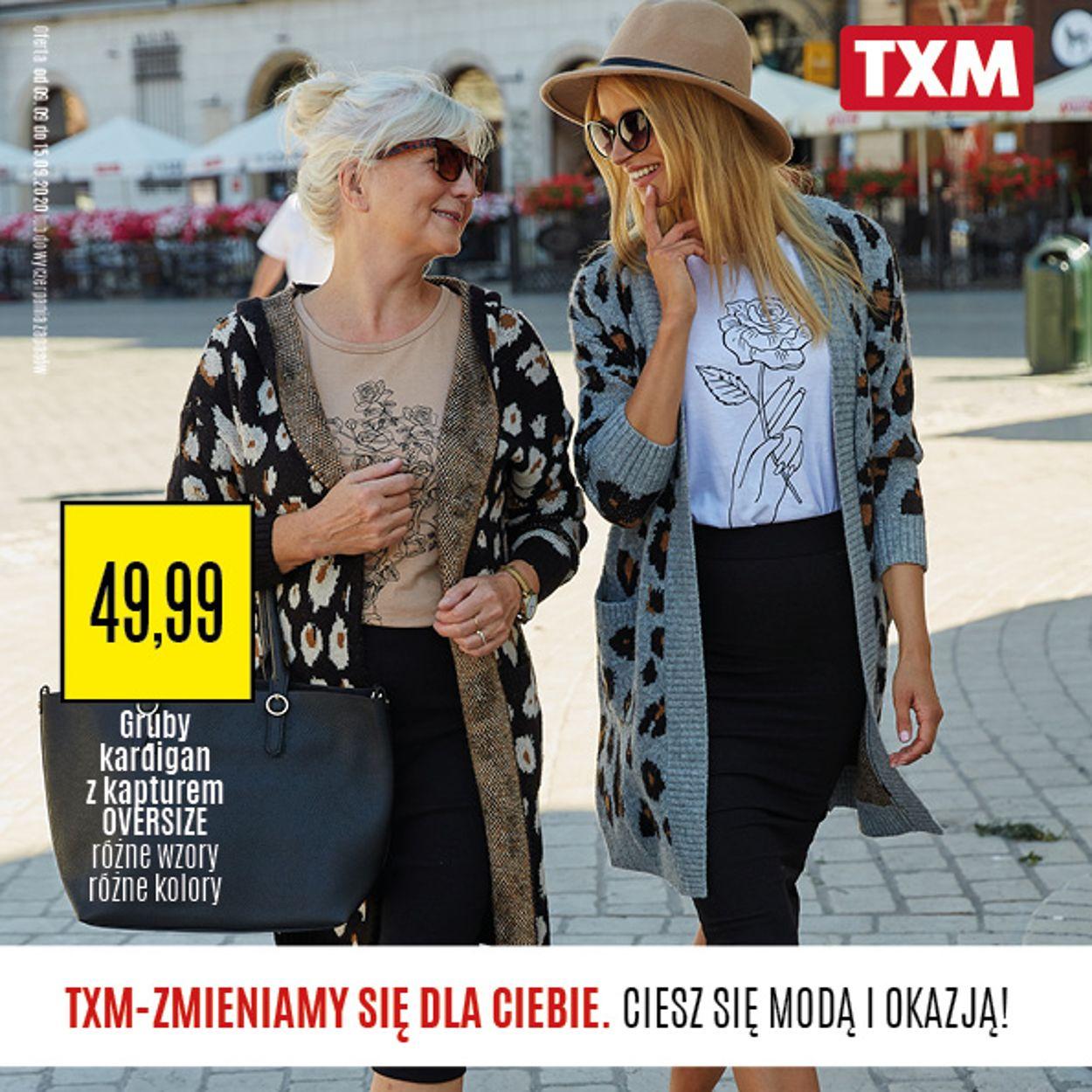 Gazetka promocyjna TXM - 09.09-15.09.2020